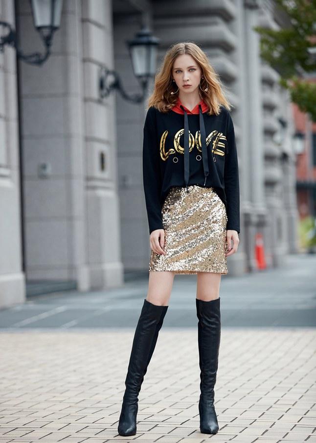 滿版亮片流行短裙