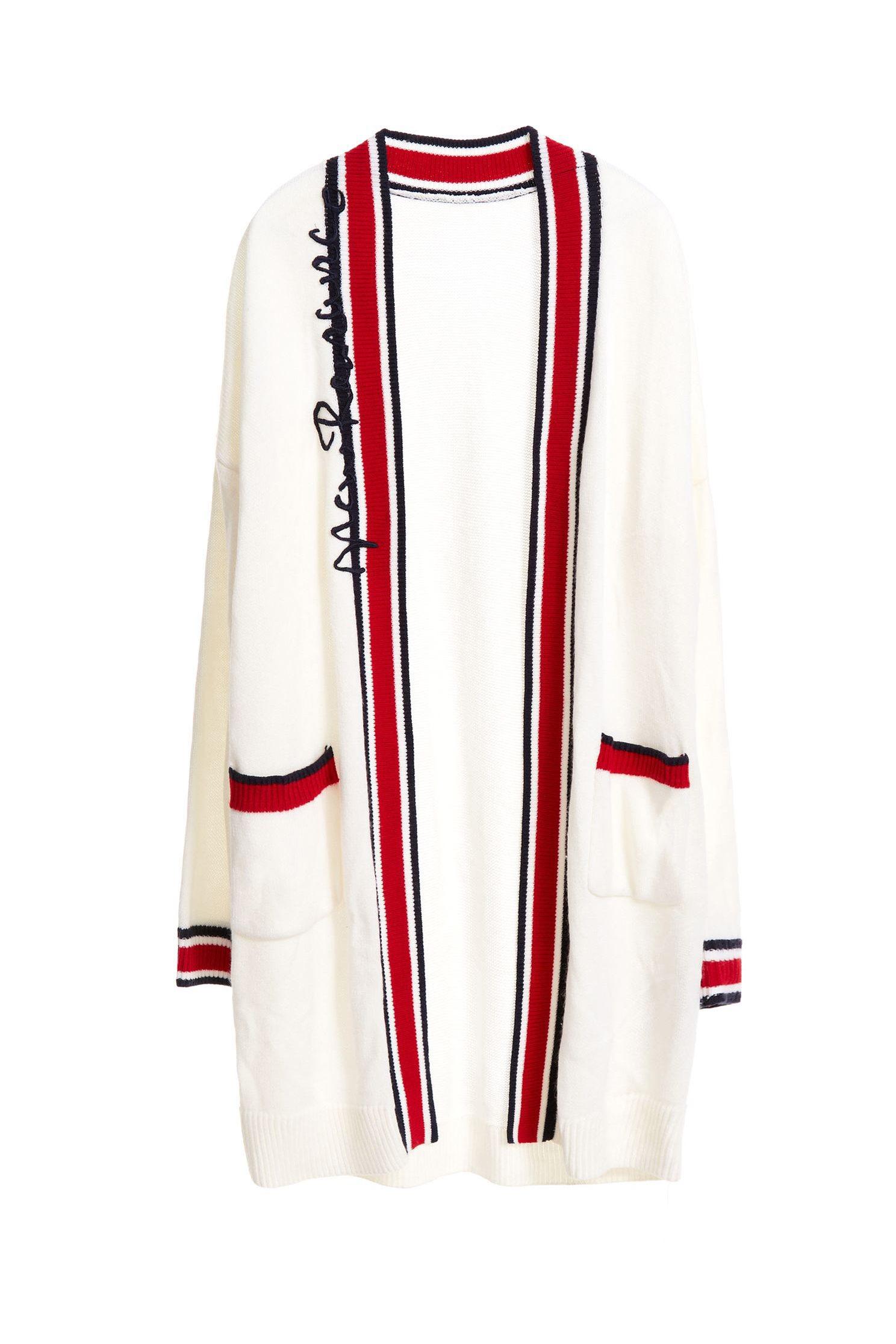 Mixing stripes coat