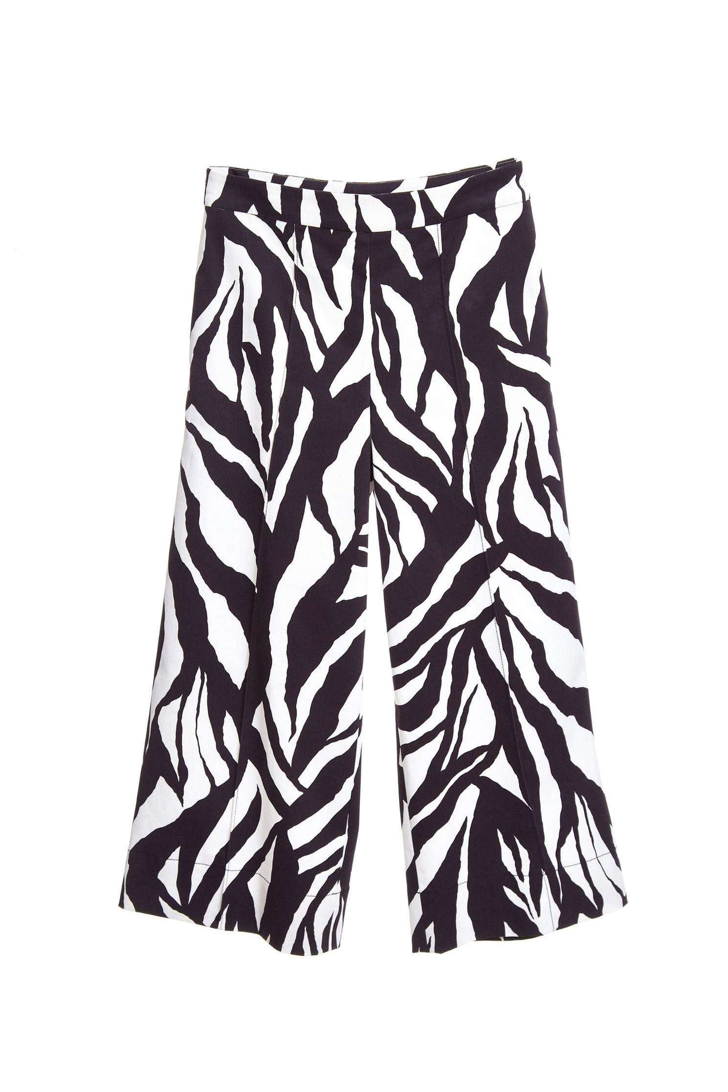Zebra stripe classic fashion culottes