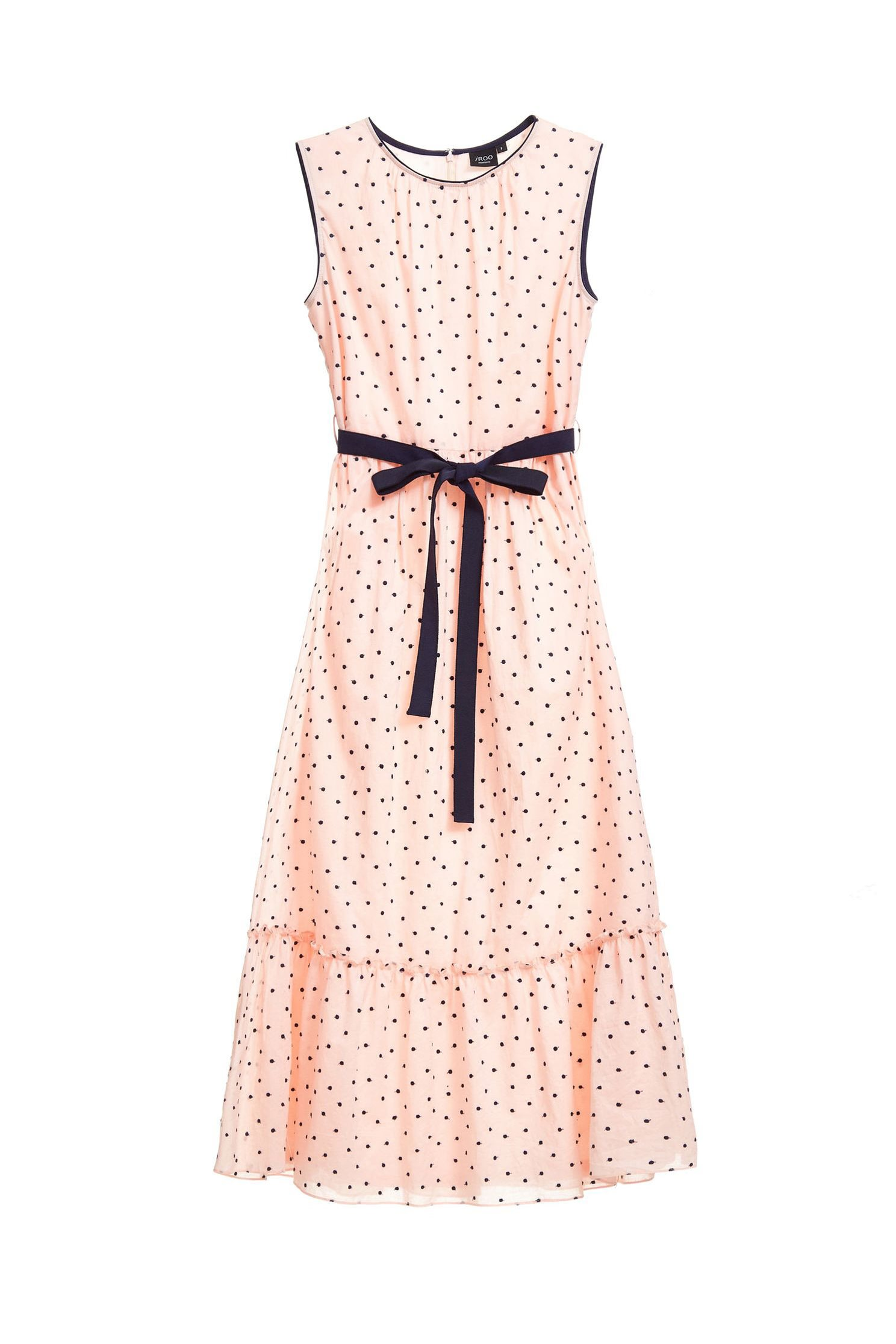 Polka dot fashion dress