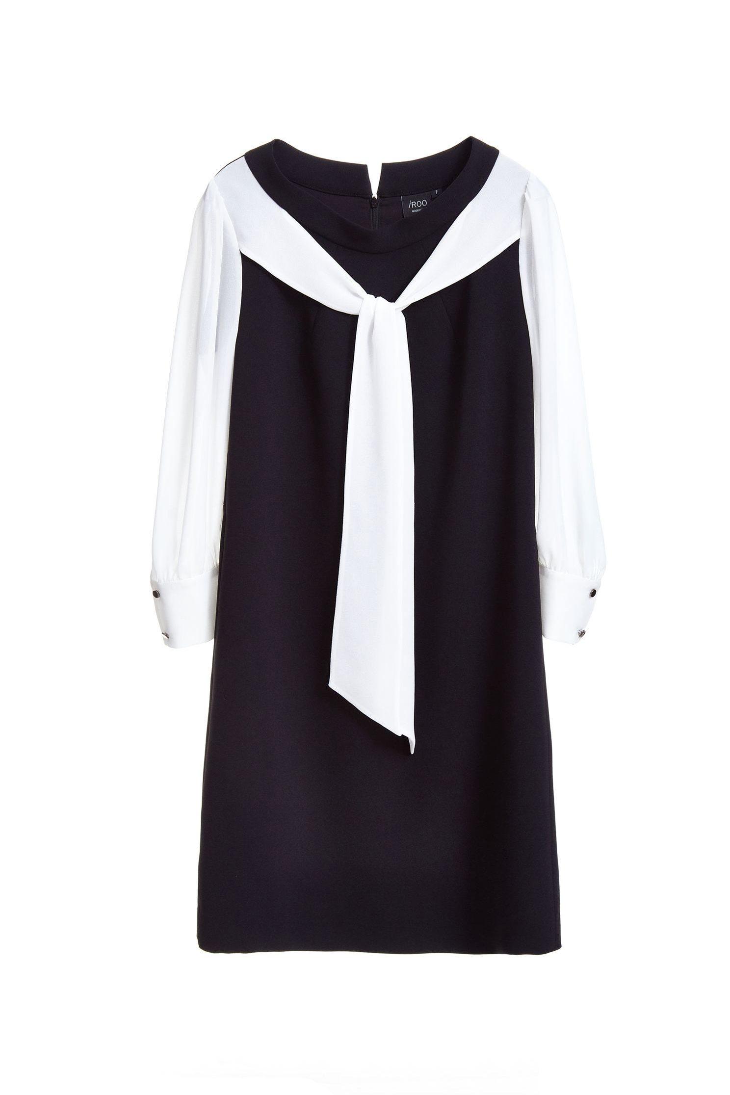 Layerd-look fashion sleeveless dress