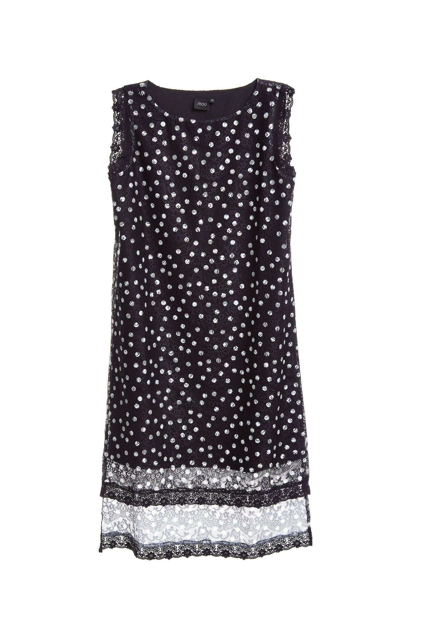 Polka dots classic fashion dress