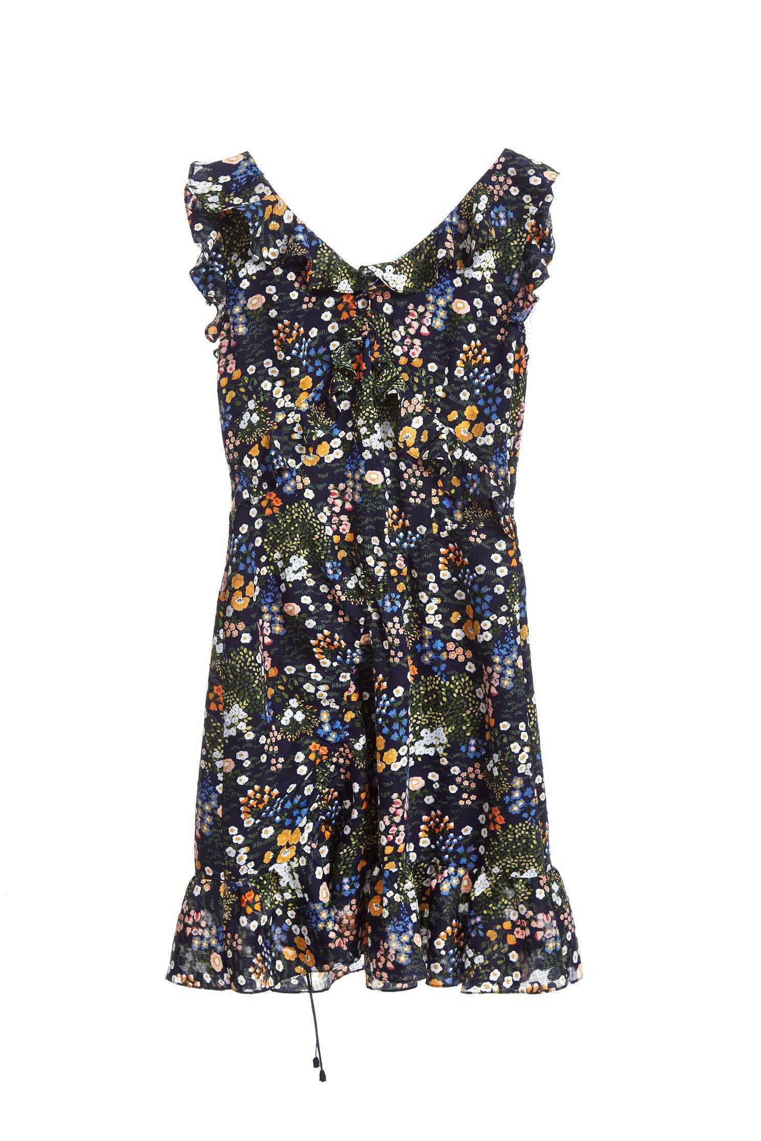 Vintage pattern fashion dress