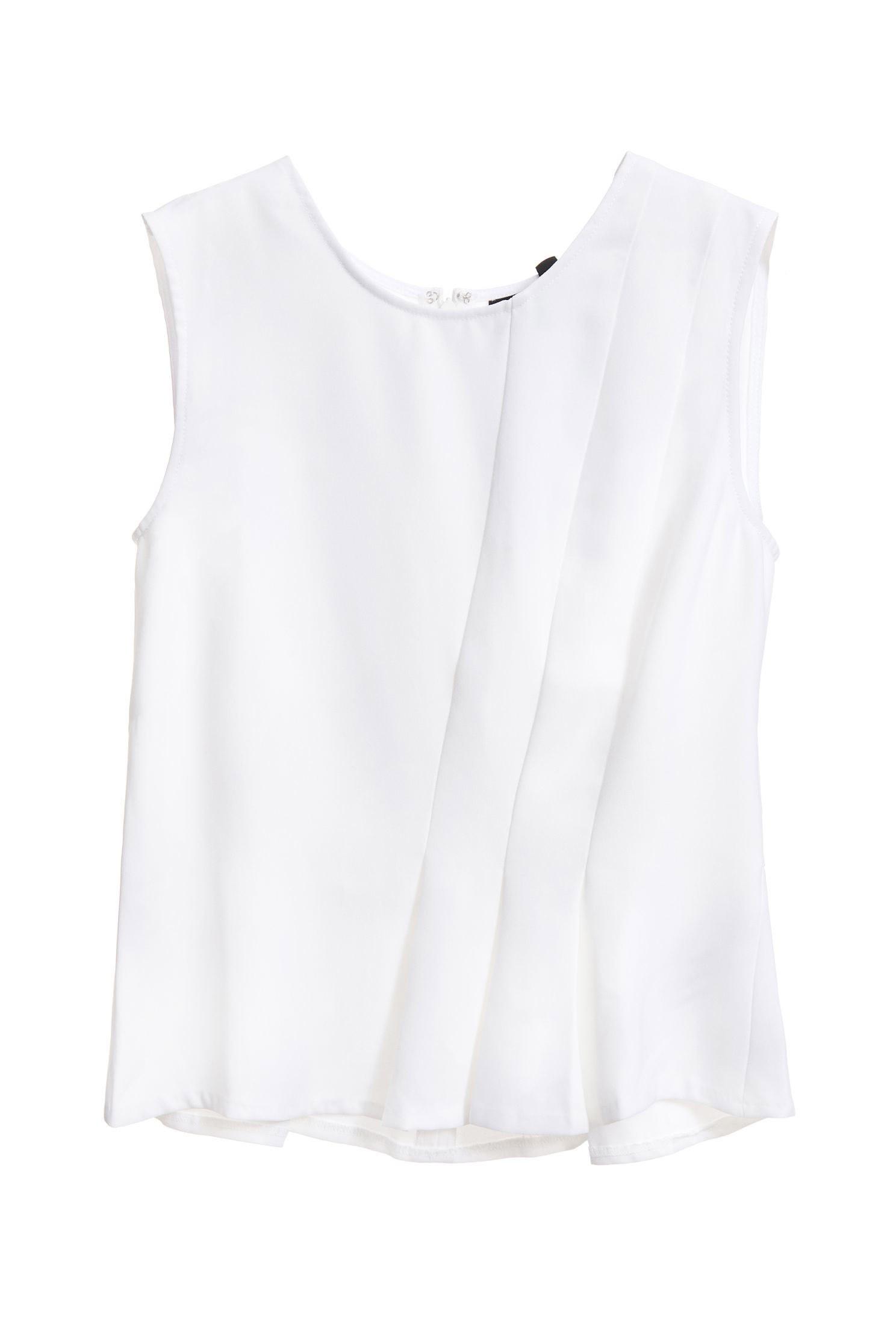 Recommend! Sleek cut vest top