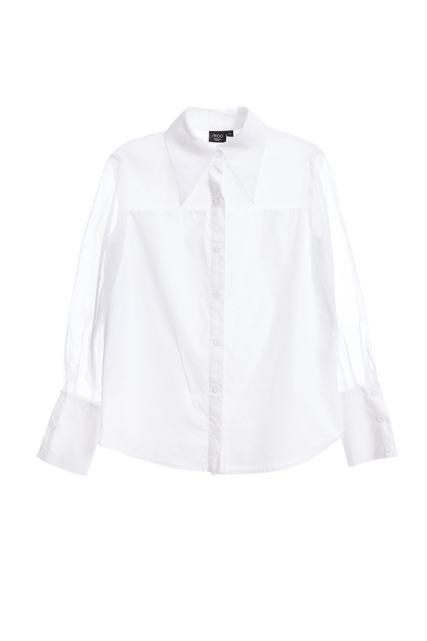 Organza mixed shirt