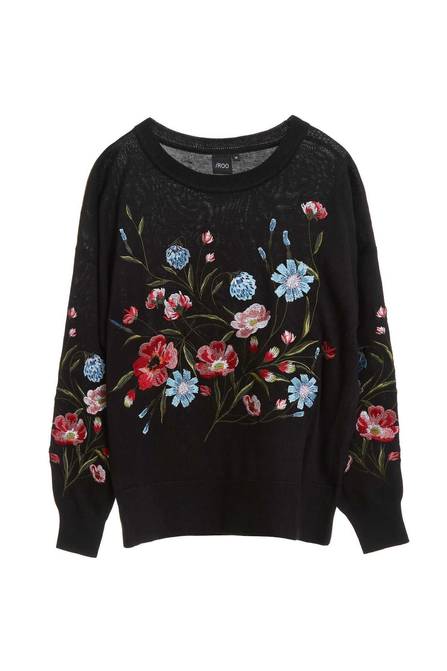 Floral knitwear