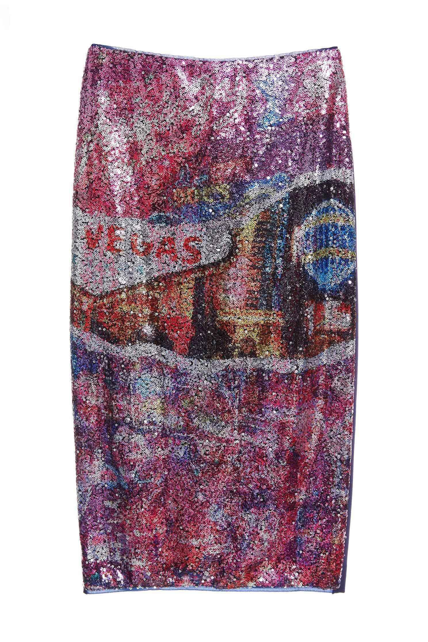 Totem fashion skirt