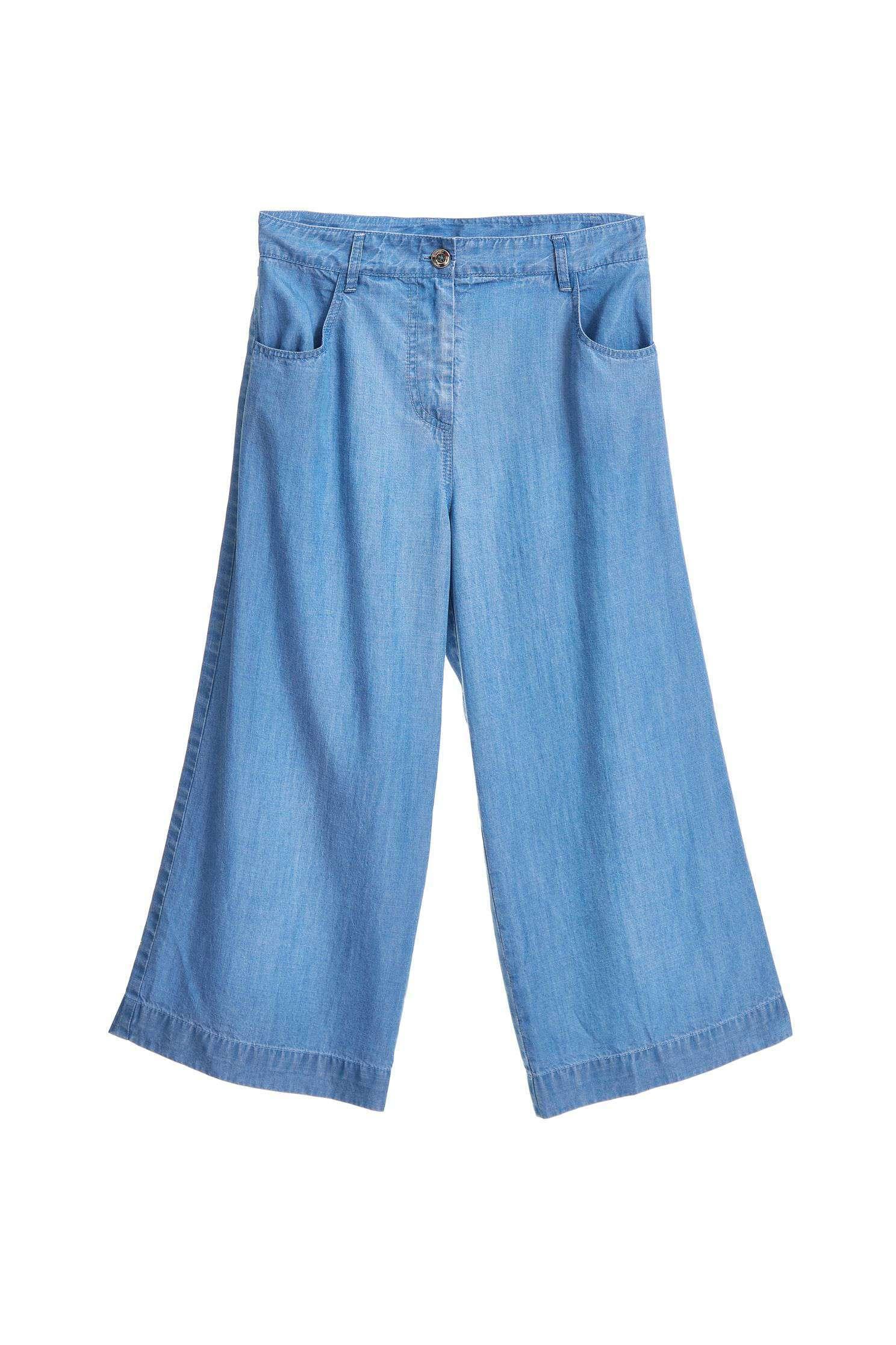 Popular design denim culottes