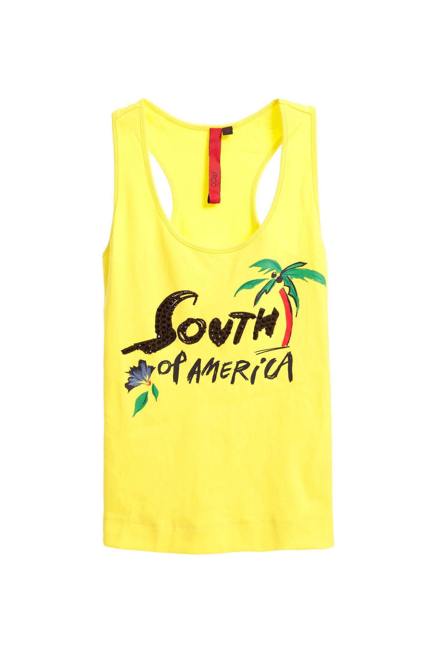 South American style cotton vest