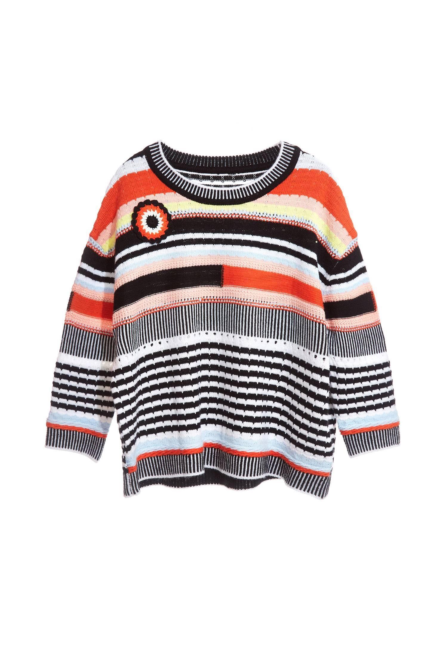 Irregular Stripe fashion tops