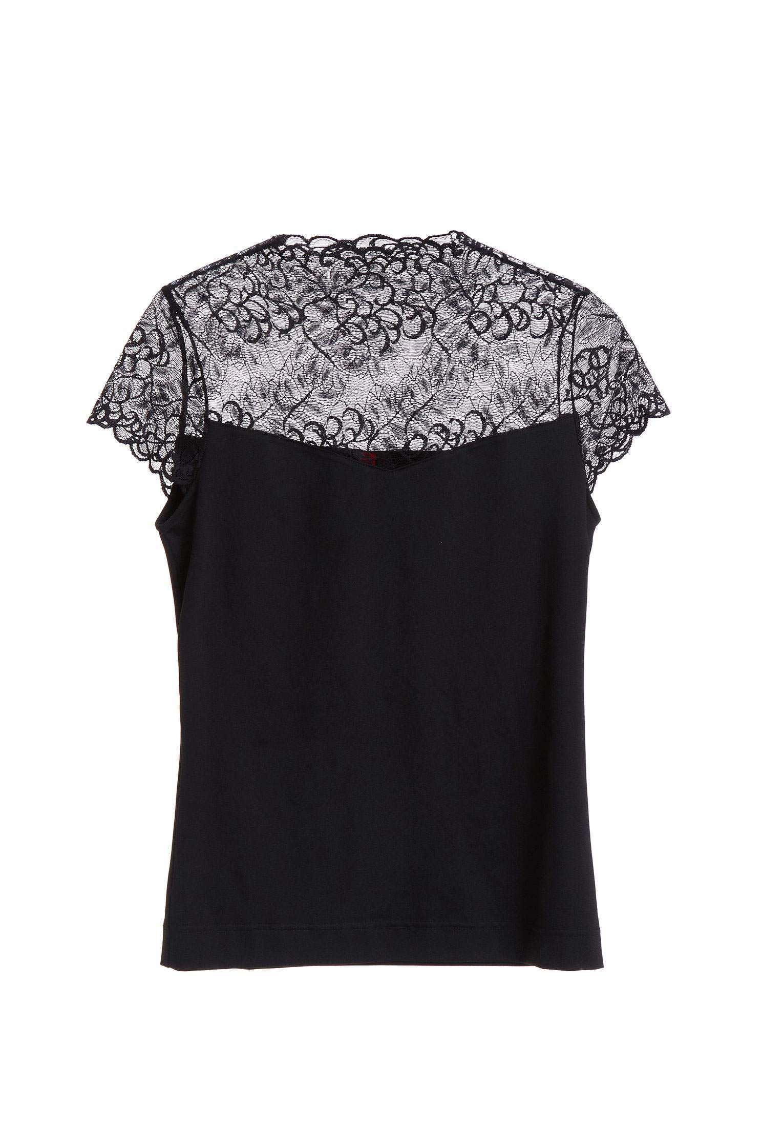 Breathable lace top