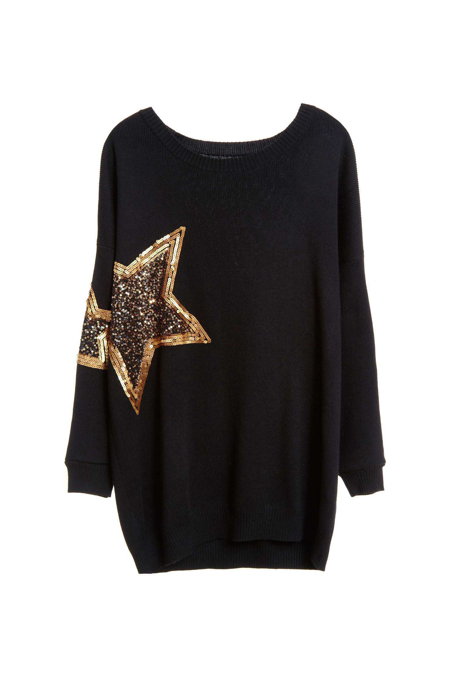 Star Knitted Top