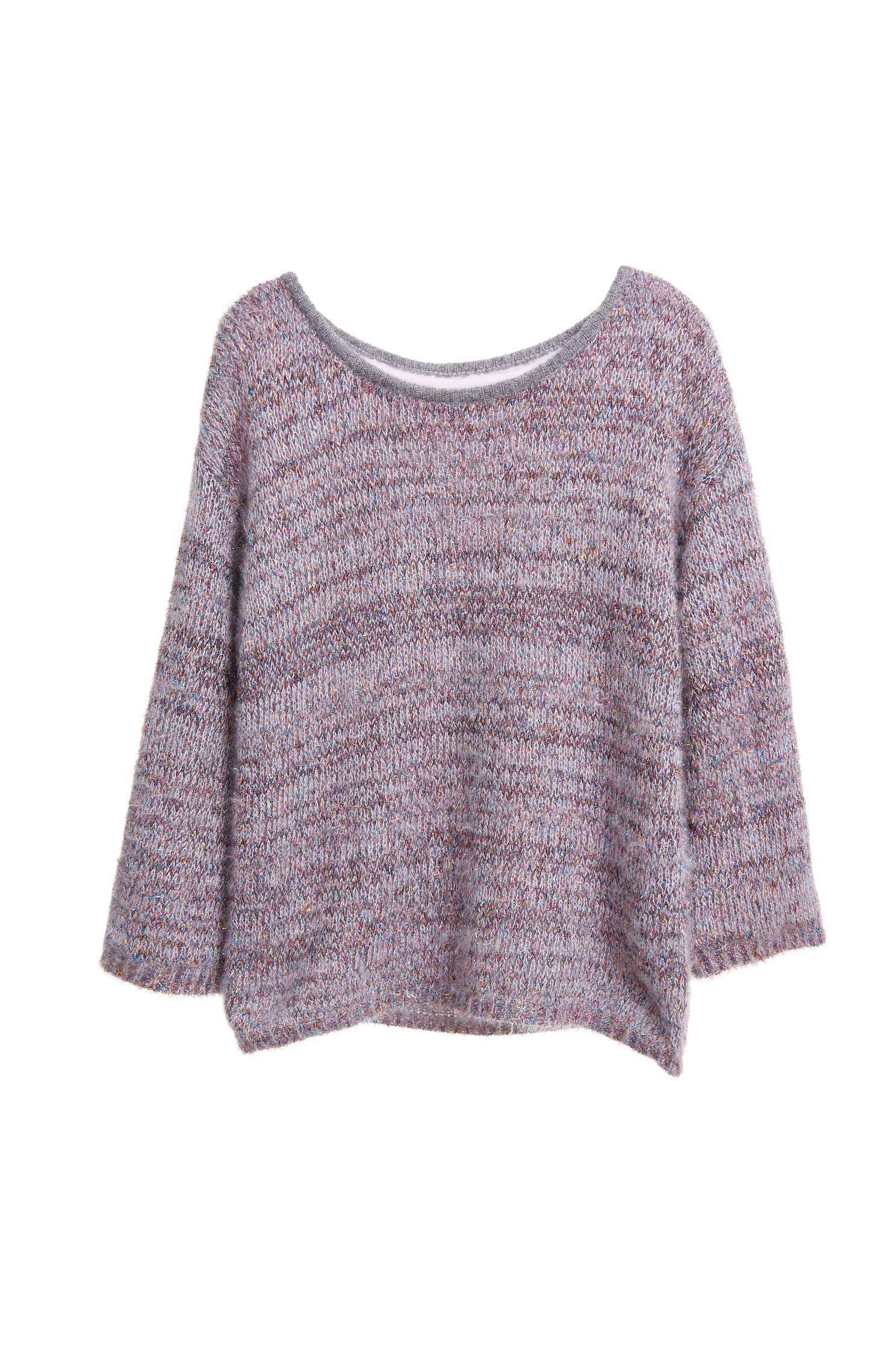 Glitter luxury knitted top