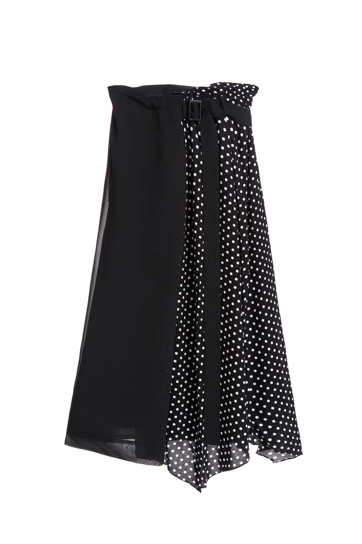 Polka dots classic design skirt
