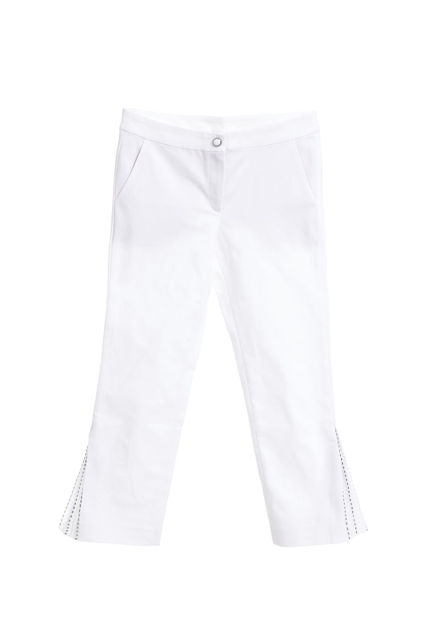 Side split stitching design trousers