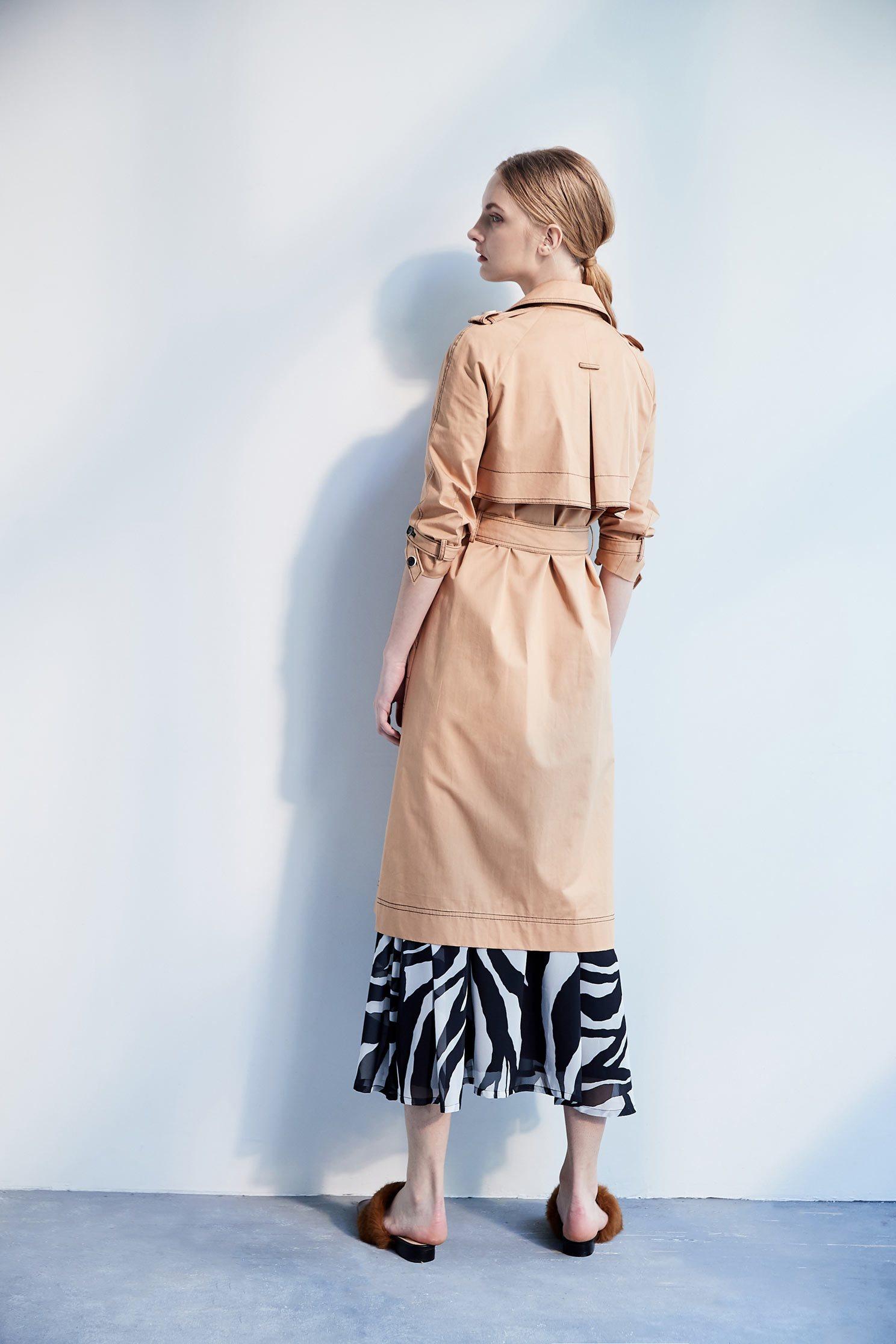 Classic khaki trench coat,jacket,outerwear,cotton,longcoat,longsleeveouterwear,windbreaker,airsigns