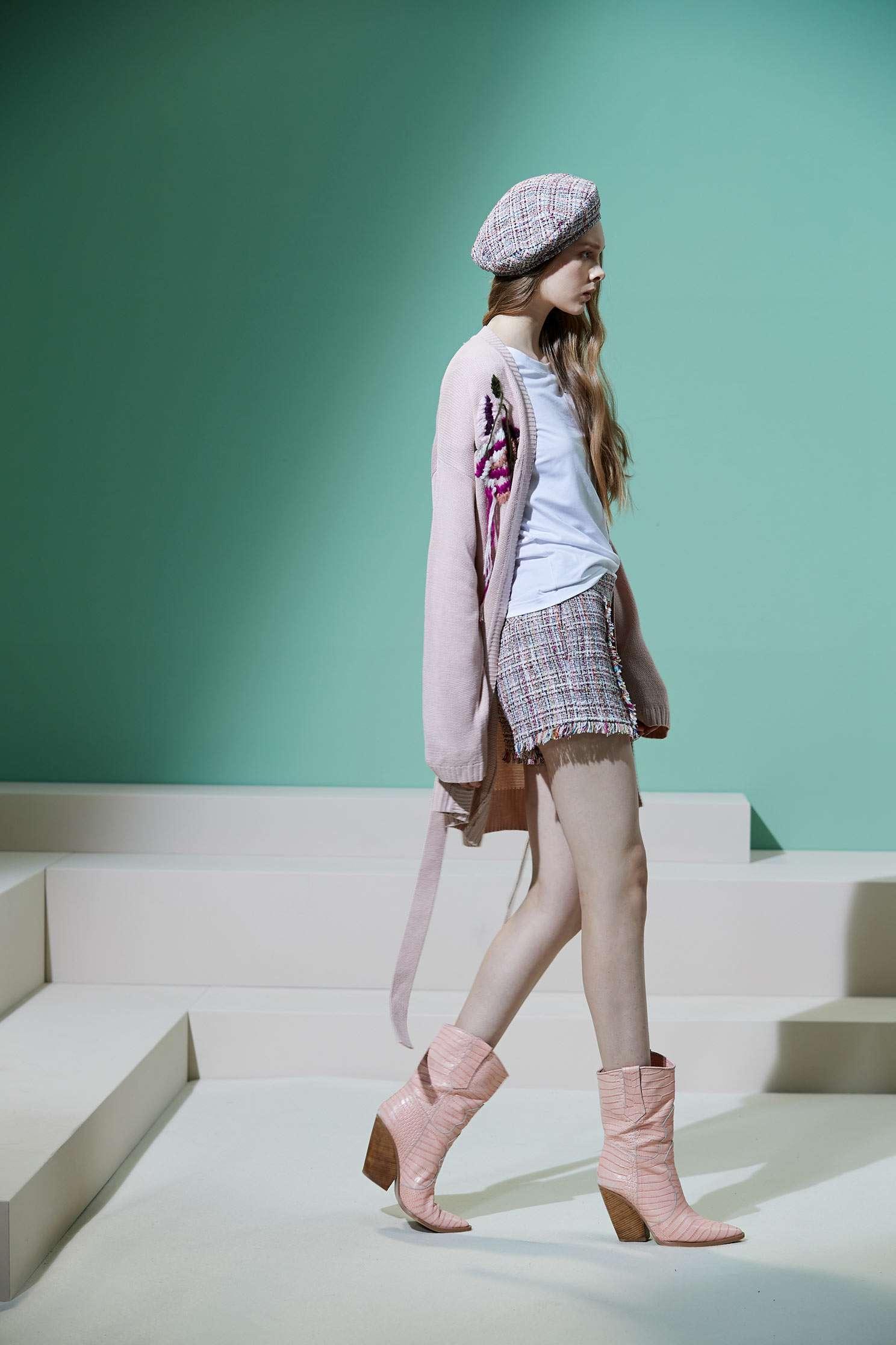 Embroidered knitting coat,外套,Cardigan,knitting,Knitted Jacket,long coat,長袖外套