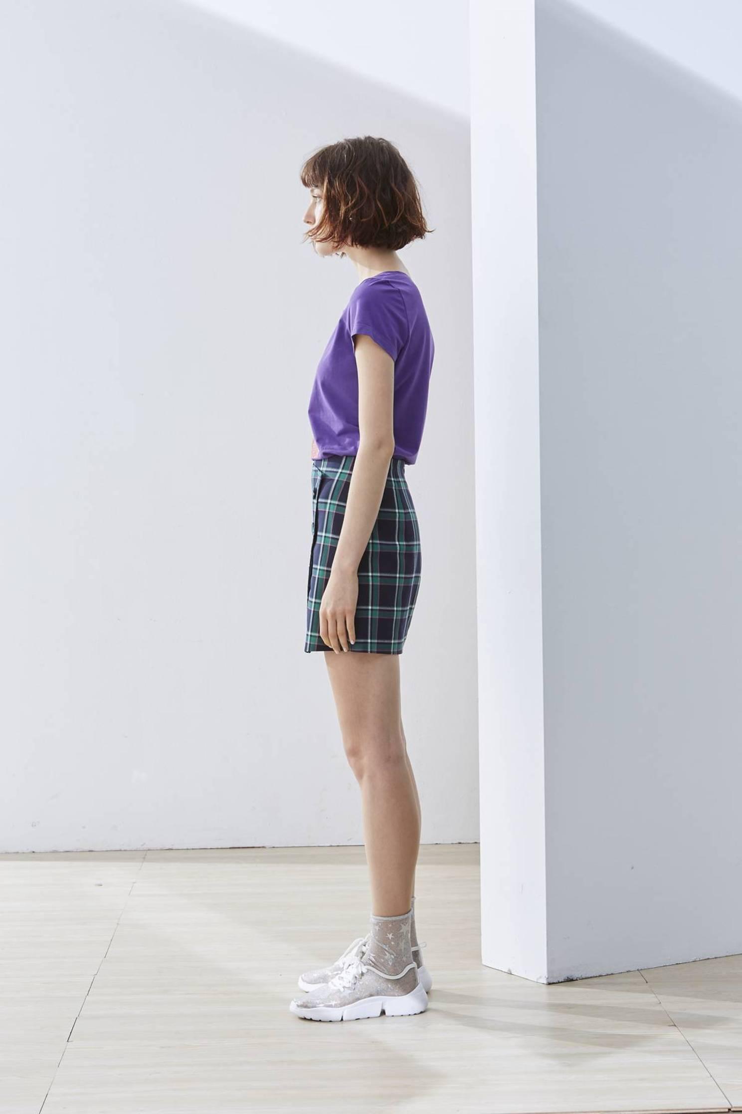 Plaid woman design skirt,Mini Skirt,Pencil Skirt,Long Skirt