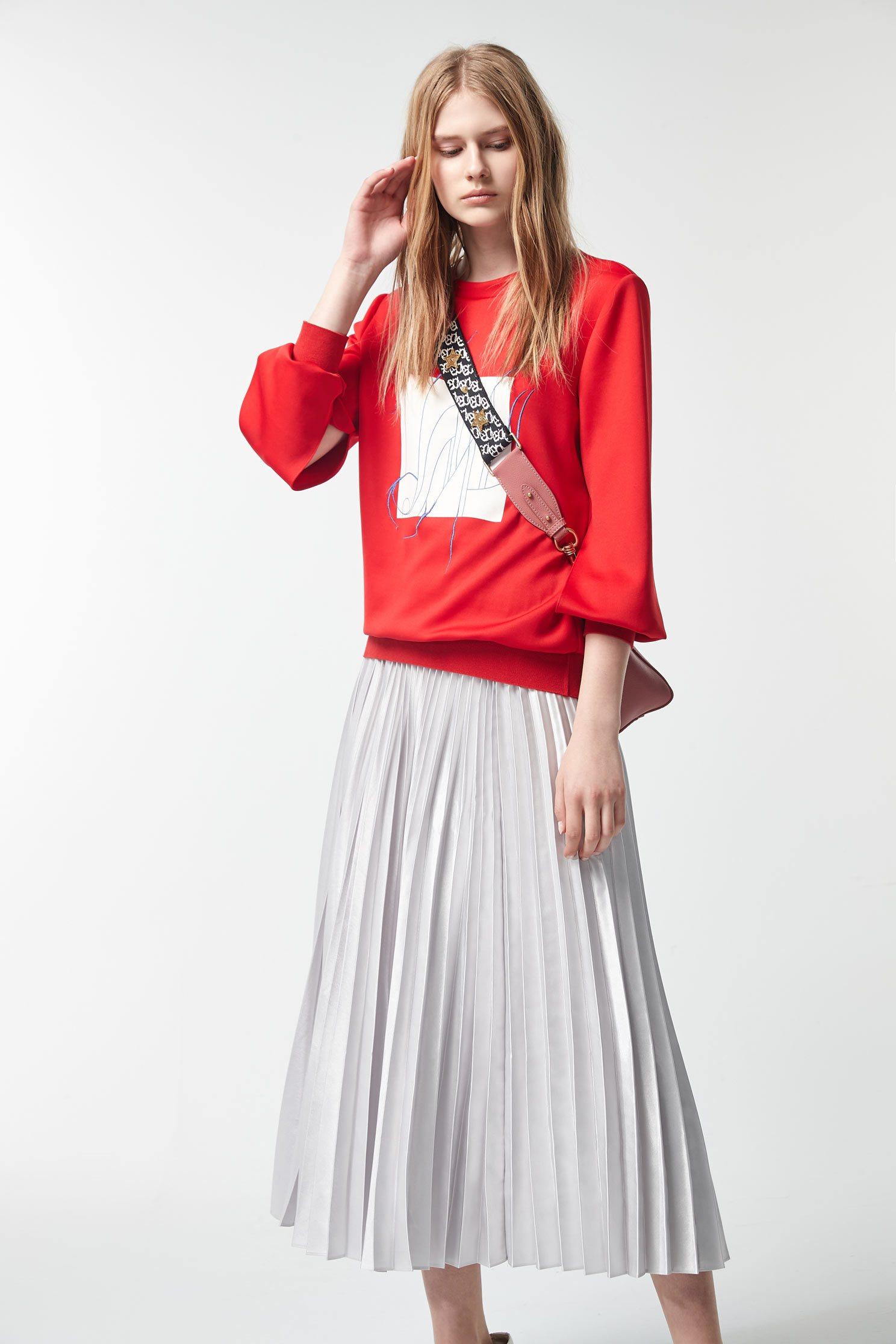 Silver pleated long skirt,pleats,pleatedskirt,maxipleatedskirt,valentine,longskirt