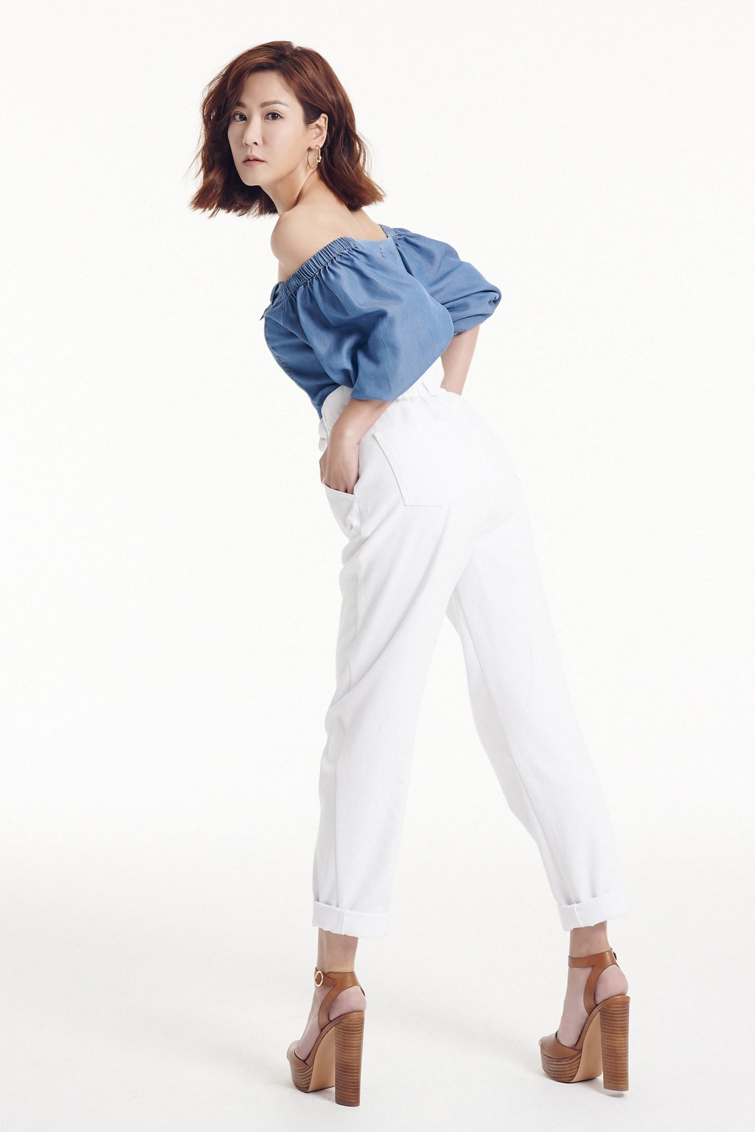 tube ruffle  sleeves Vintage Pants set,top,onlinelimitededition,jeans
