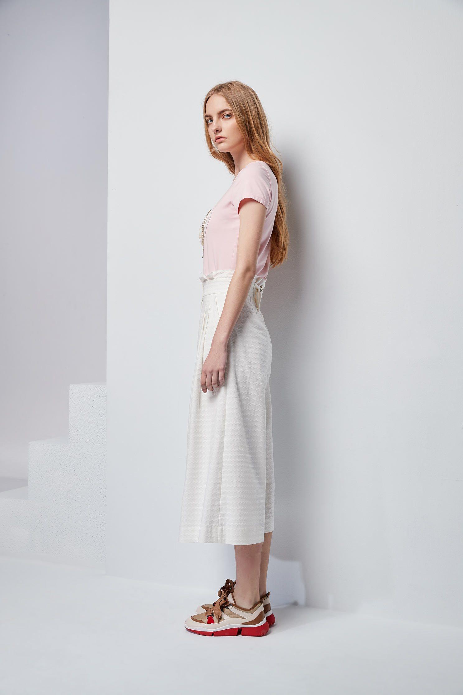 High waist modern culottes