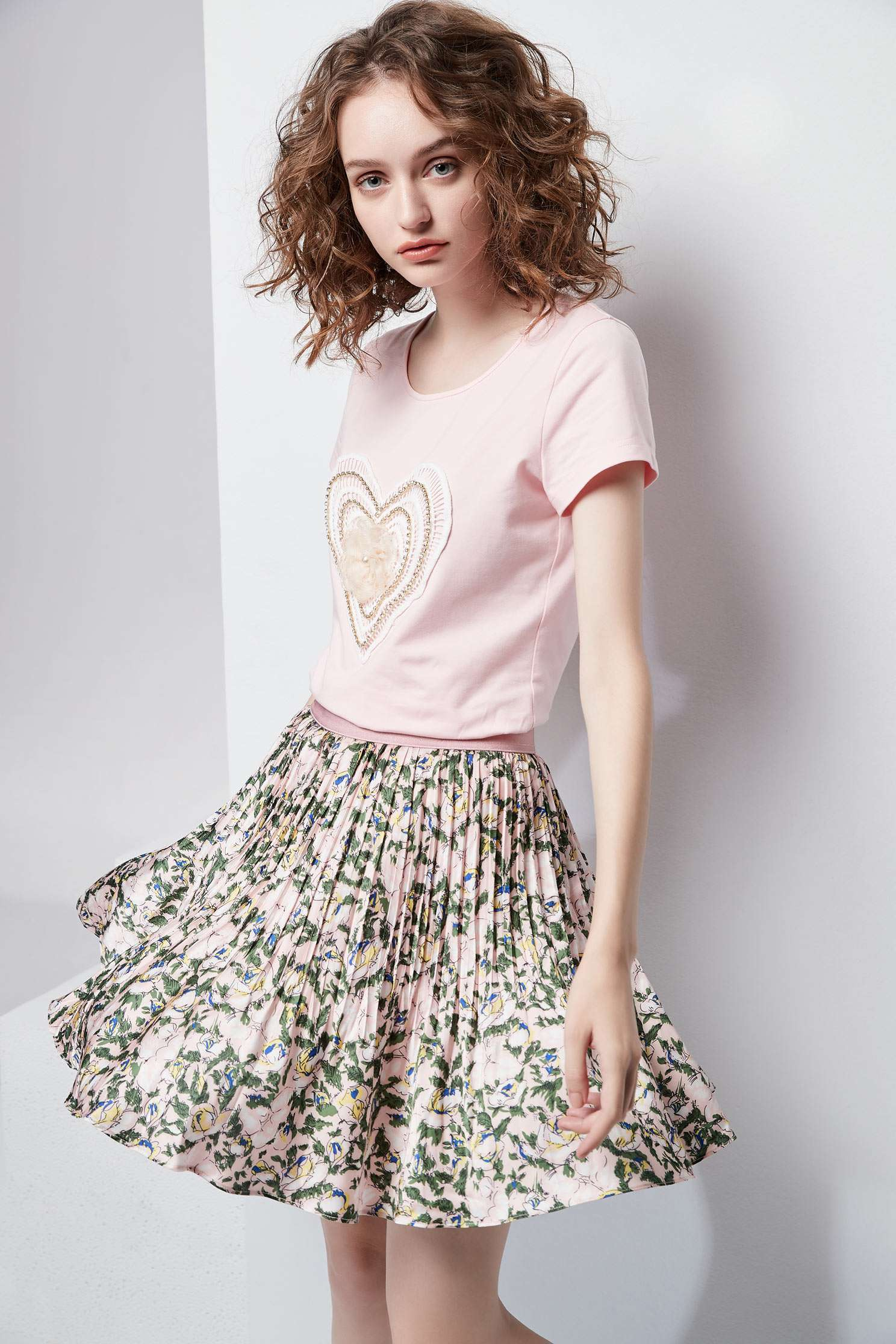 Classic flowery skorts,shorts,pants,culottes