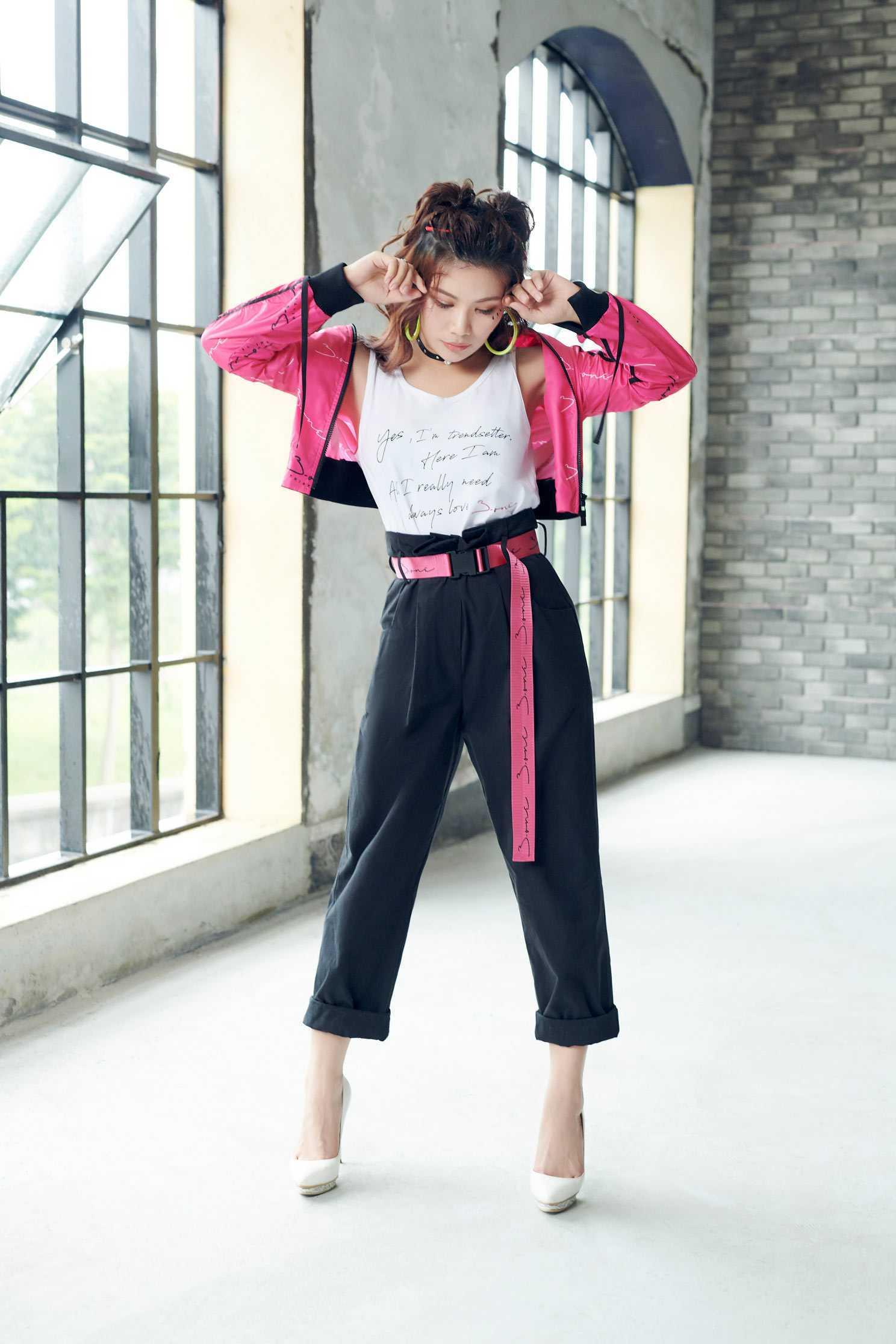 iRoo x 3.one Fashion logo designed culottes