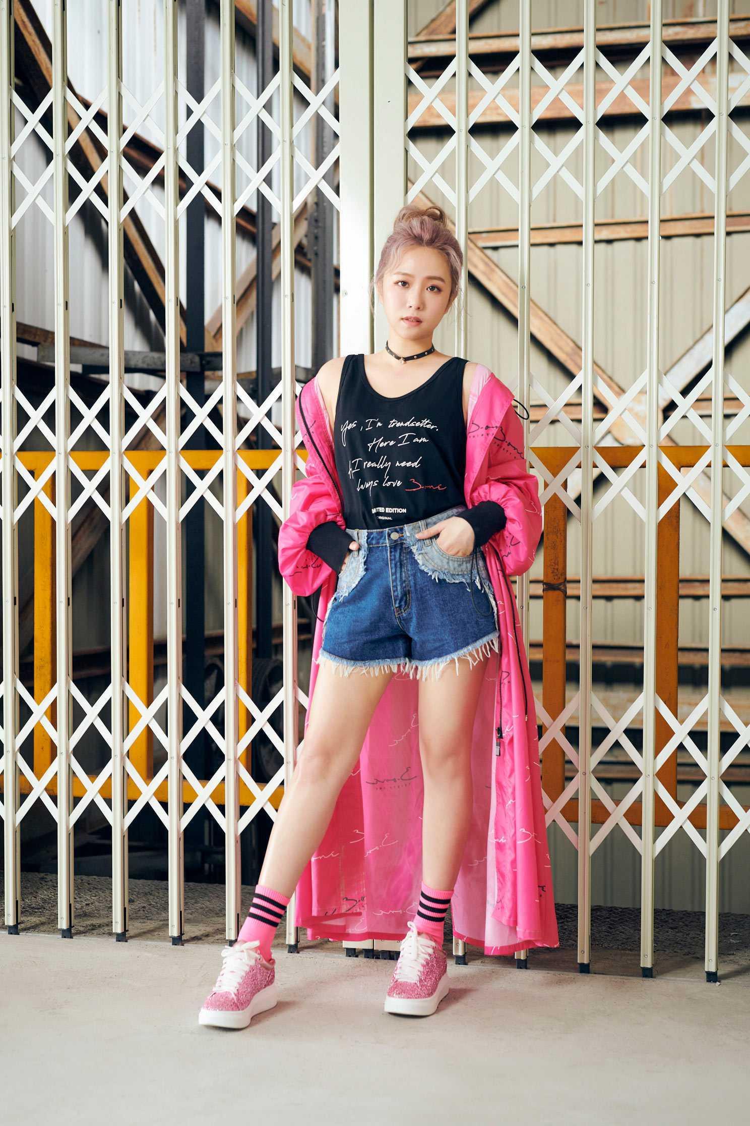 iRoo x 3.one Mixed jean shorts