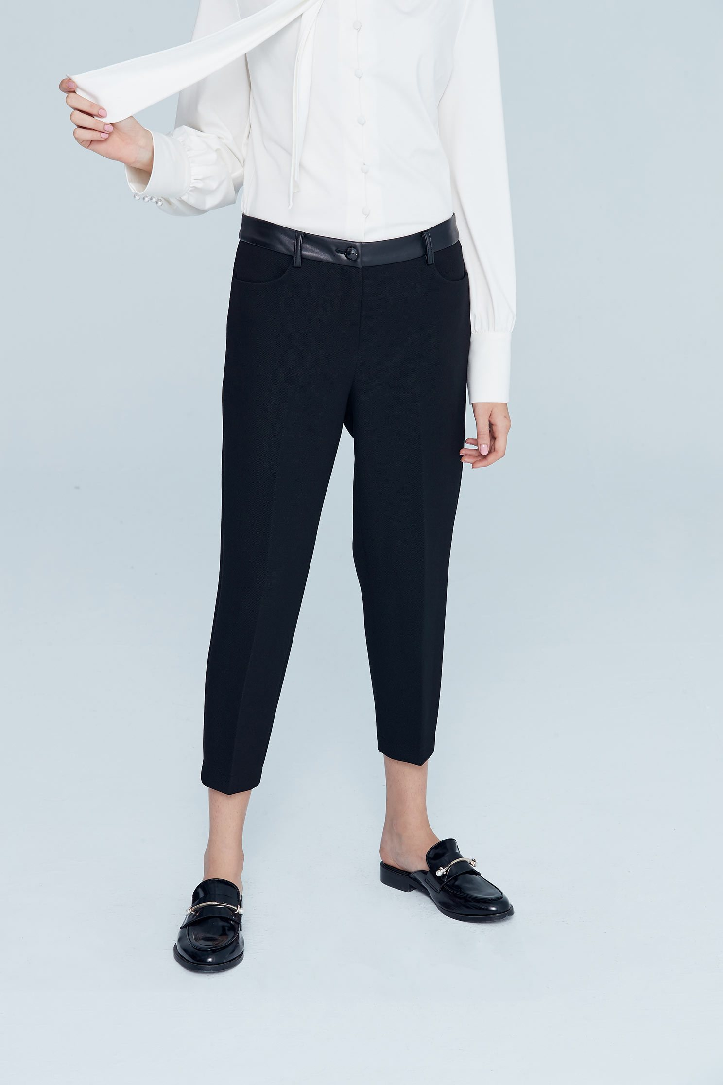 Slim classic pants,skinnypants,pants,pants,thinpants,blacktrousers