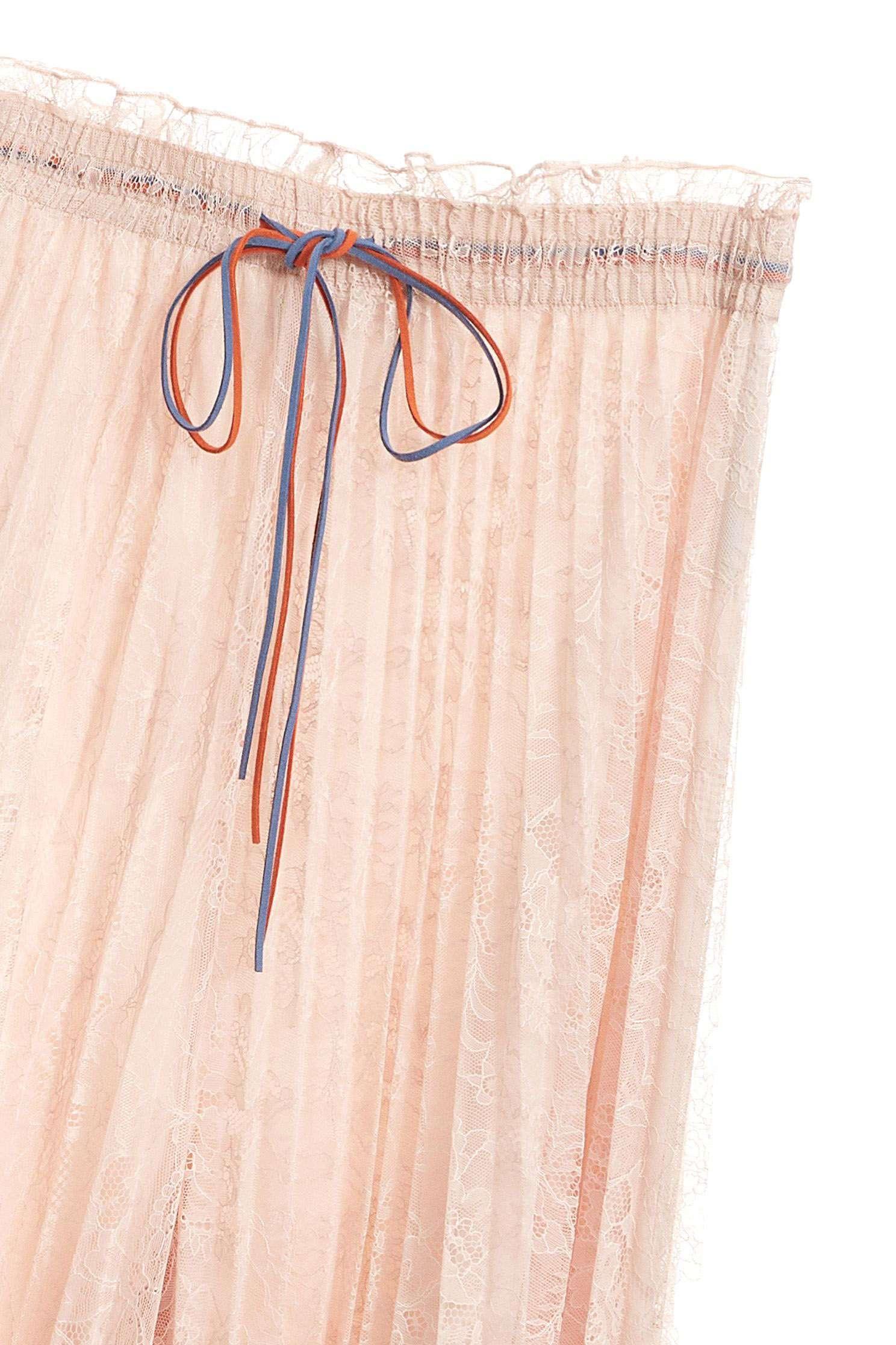 Elegant fashion wide pants,Culottes Pants,i-select,Lace,Pants,Culottes,長褲,Was thin