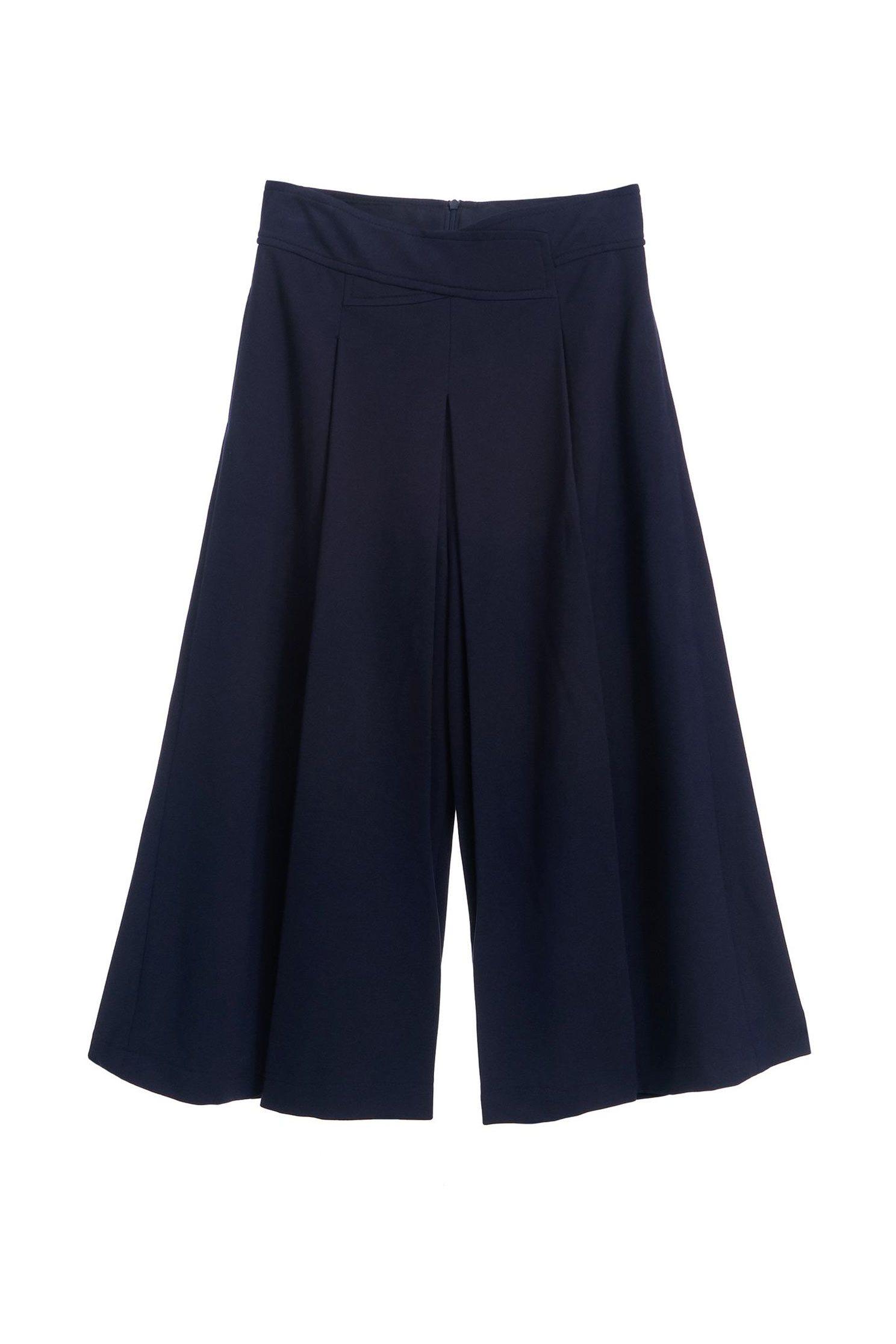 Roman wide trousers,culottespants,pants,knitting,pants