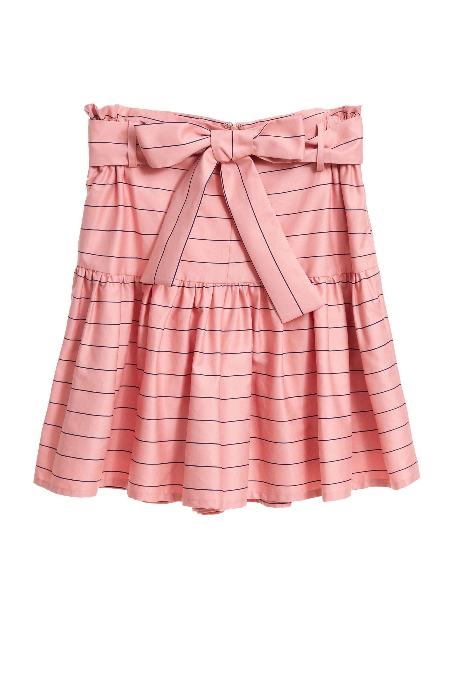 Striped strappy shorts skirt,shorts,i-select,culottes,girlfriendsspringtour