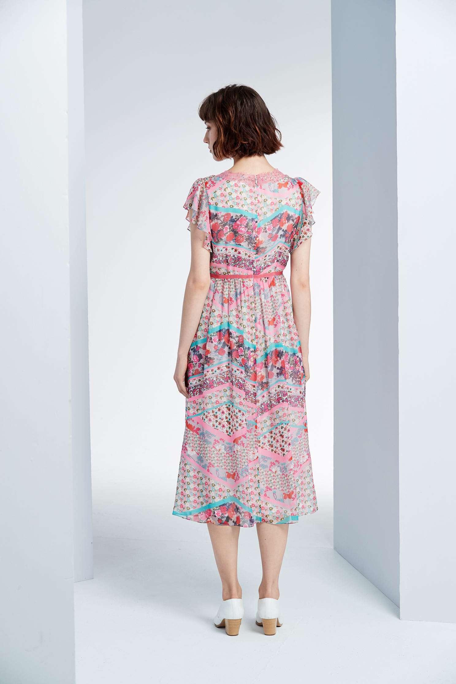 Elegant pattern dress