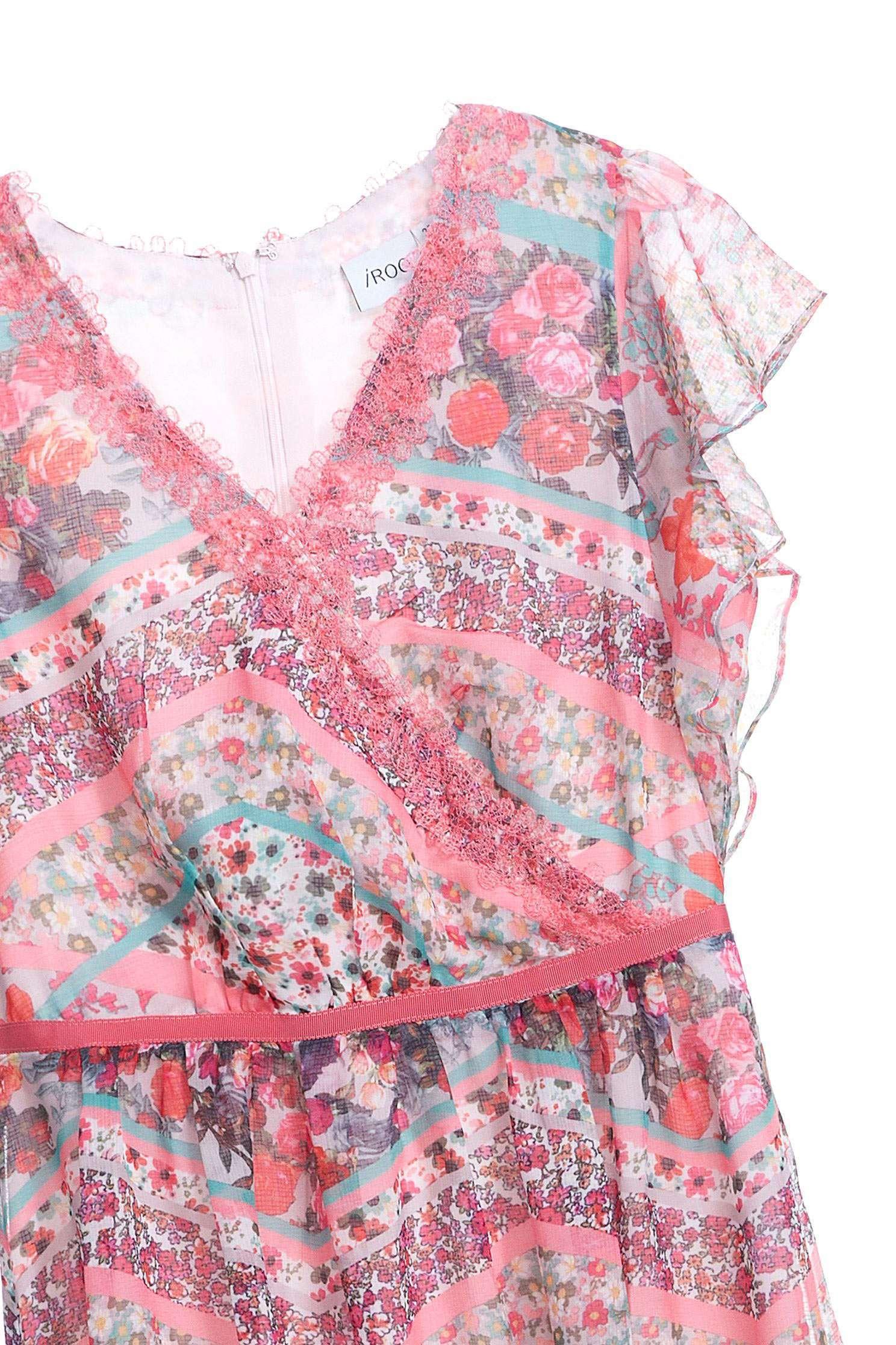Elegant pattern dress,v-neckdress,printeddress,cocktaildress,sleevelessdress,shortsleevedress,chiffon,chiffondress