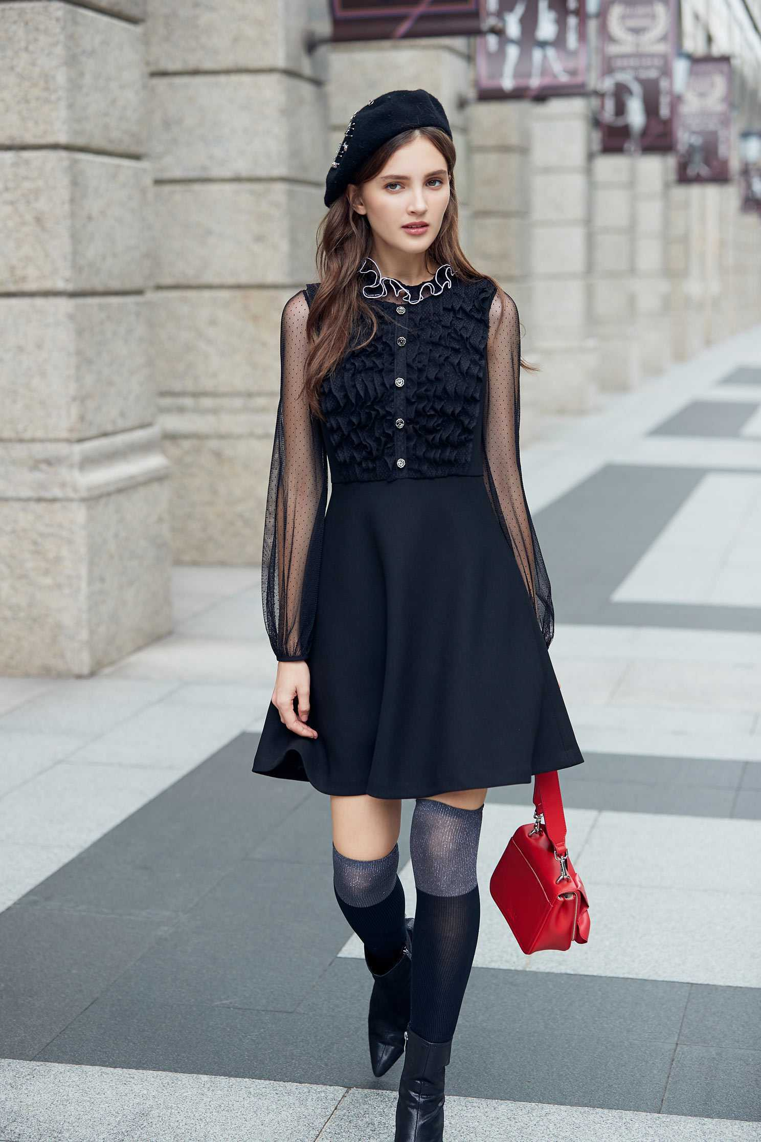 Temperament classic fashion dress
