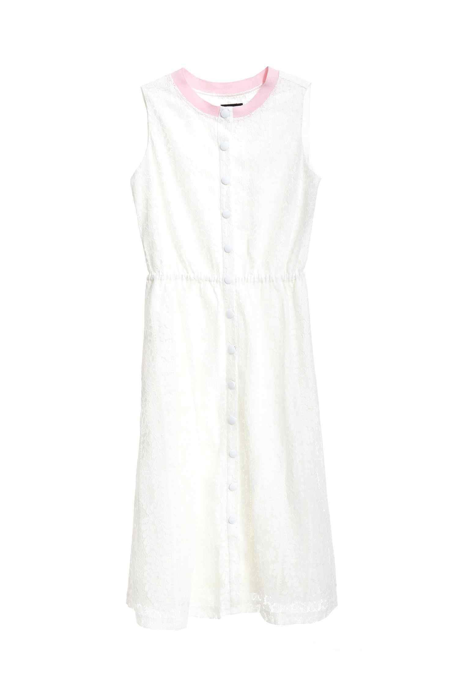 Full lace classic dress,cocktaildress,firesigns,sleevelessdress,whitedress,valentine,i-select,lace,lacedress