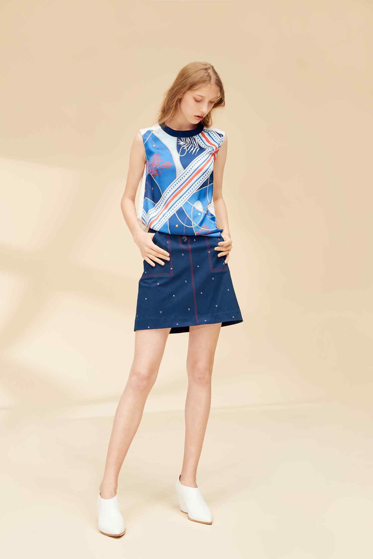 Ocean sytle fashion vest,top,vest