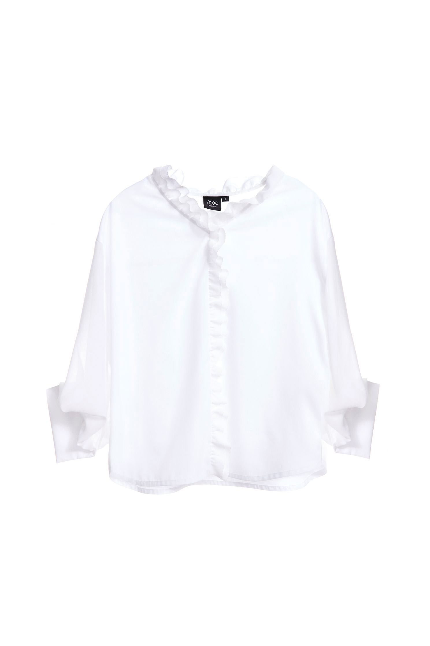 Temperament classic fashion long-sleeved top,3/4sleevetop,top,whitetop,i-select,longsleevetop