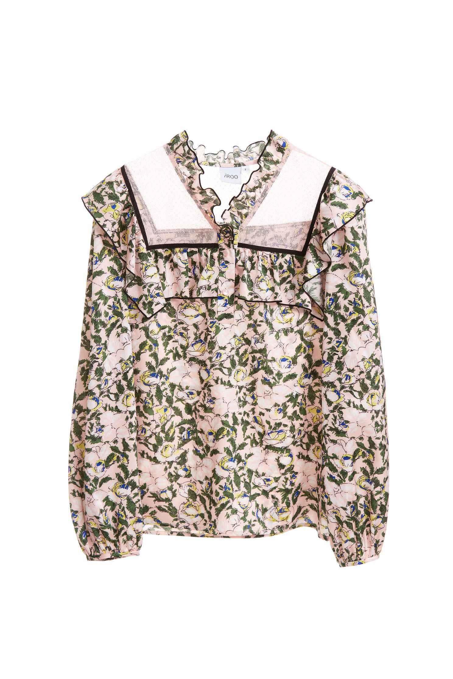 Classic flowery  designed shirts
