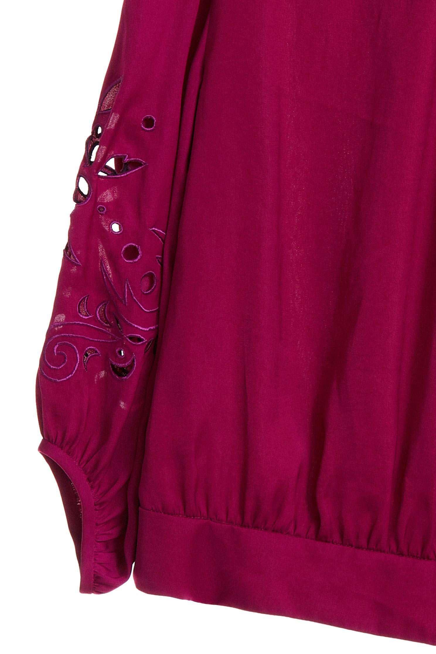 Hollowed graceful top,Top,embroidery,刺繡上衣,簍空上衣,embroidered,繡花上衣,長袖上衣