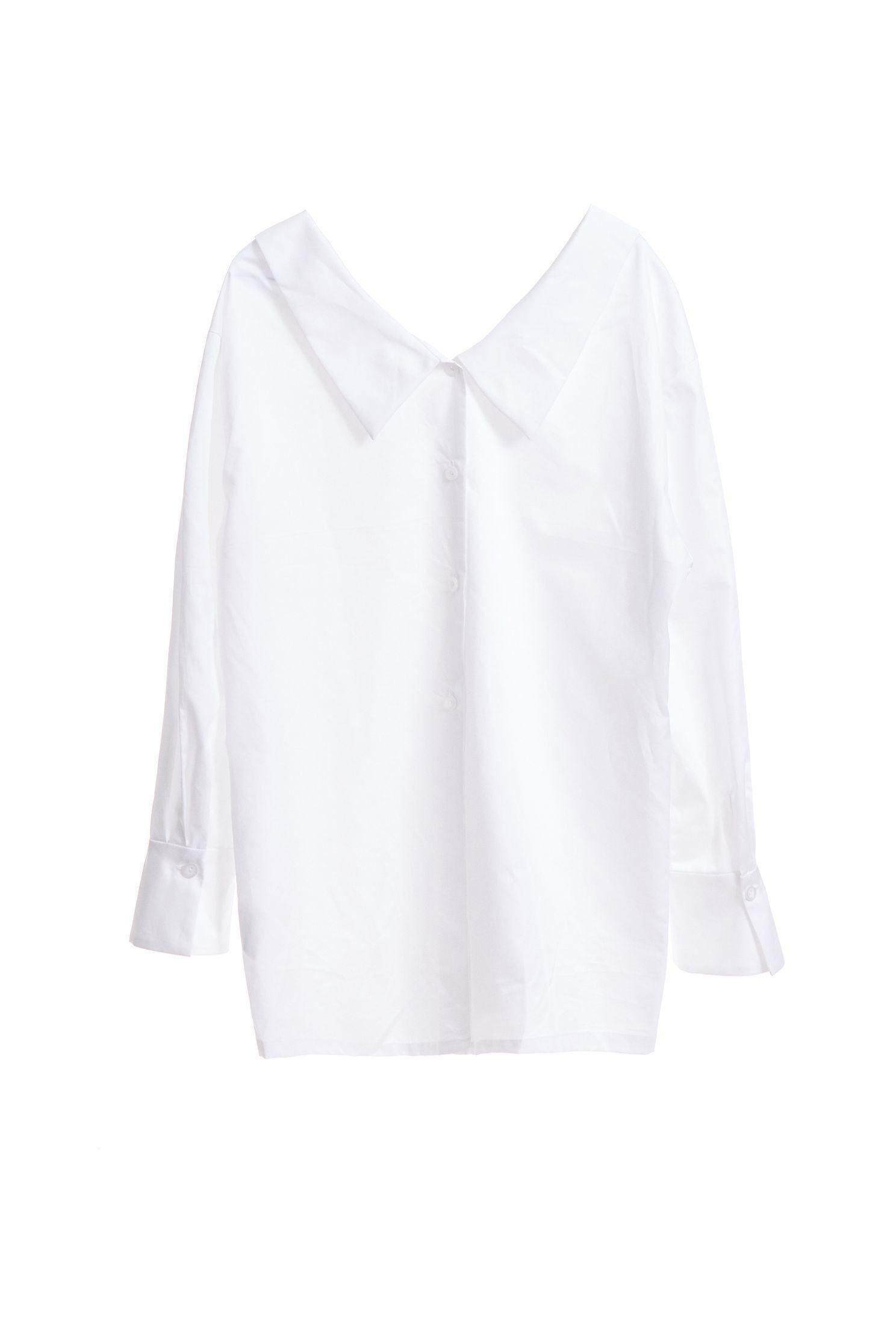 Off-shoulder shirts,whitetop,i-select,blouse,longsleevetop