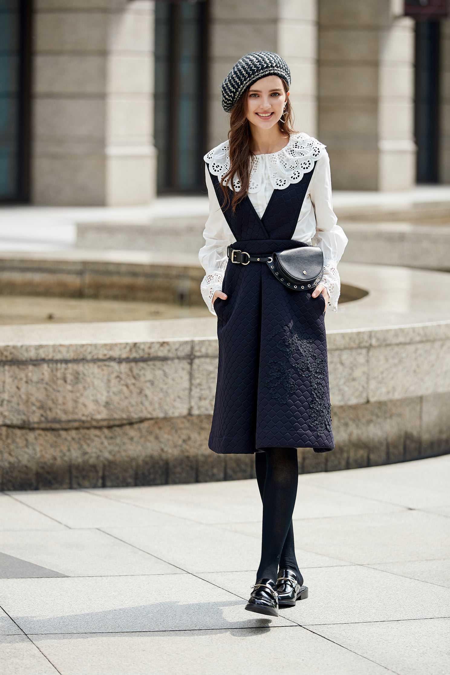 Classical elegant design top,Top,白色上衣,Cotton,Blouse,長袖上衣
