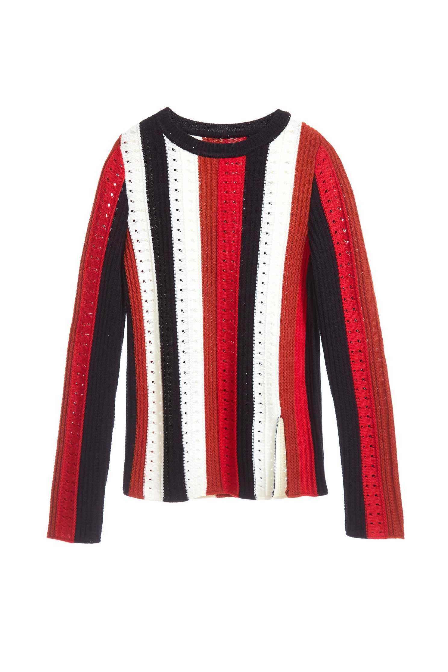 Color matching classic fashion top,top,knitting,knittedtop,knittedtop,longsleevetop
