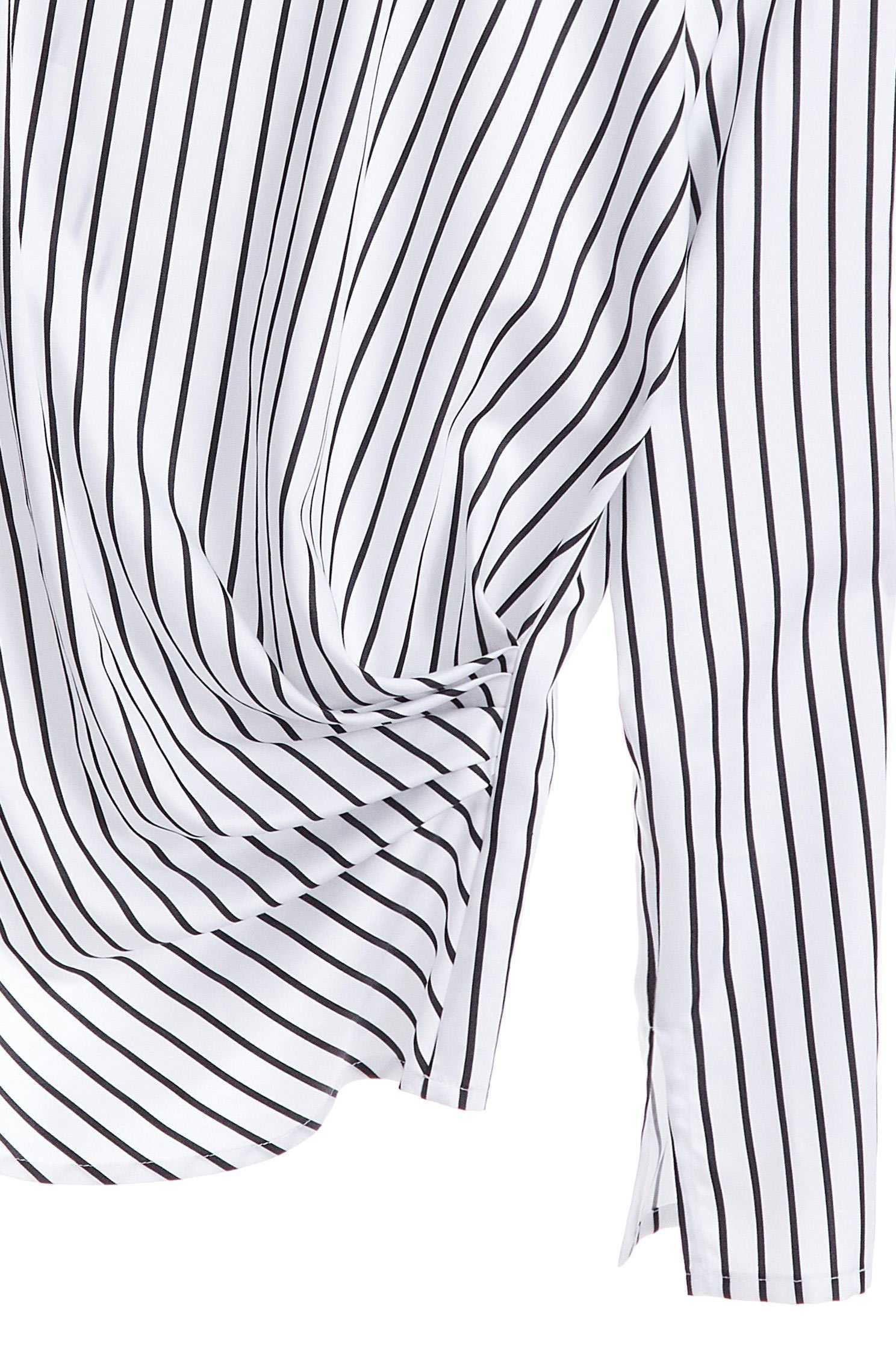 Round neck design top,Top,長袖上衣