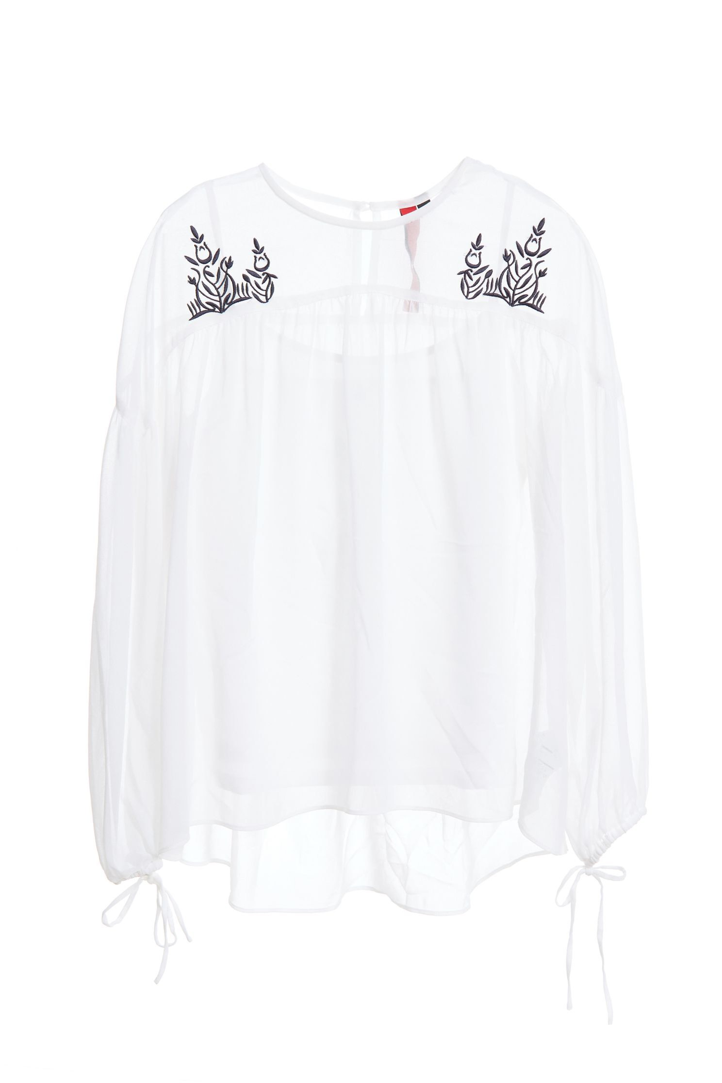 Embroidered chiffon top,offshouldertop,top,embroidery,embroideredtop,offshouldertop,whitetop,embroidered,embroideredtop,longsleevetop,chiffon,chiffontop
