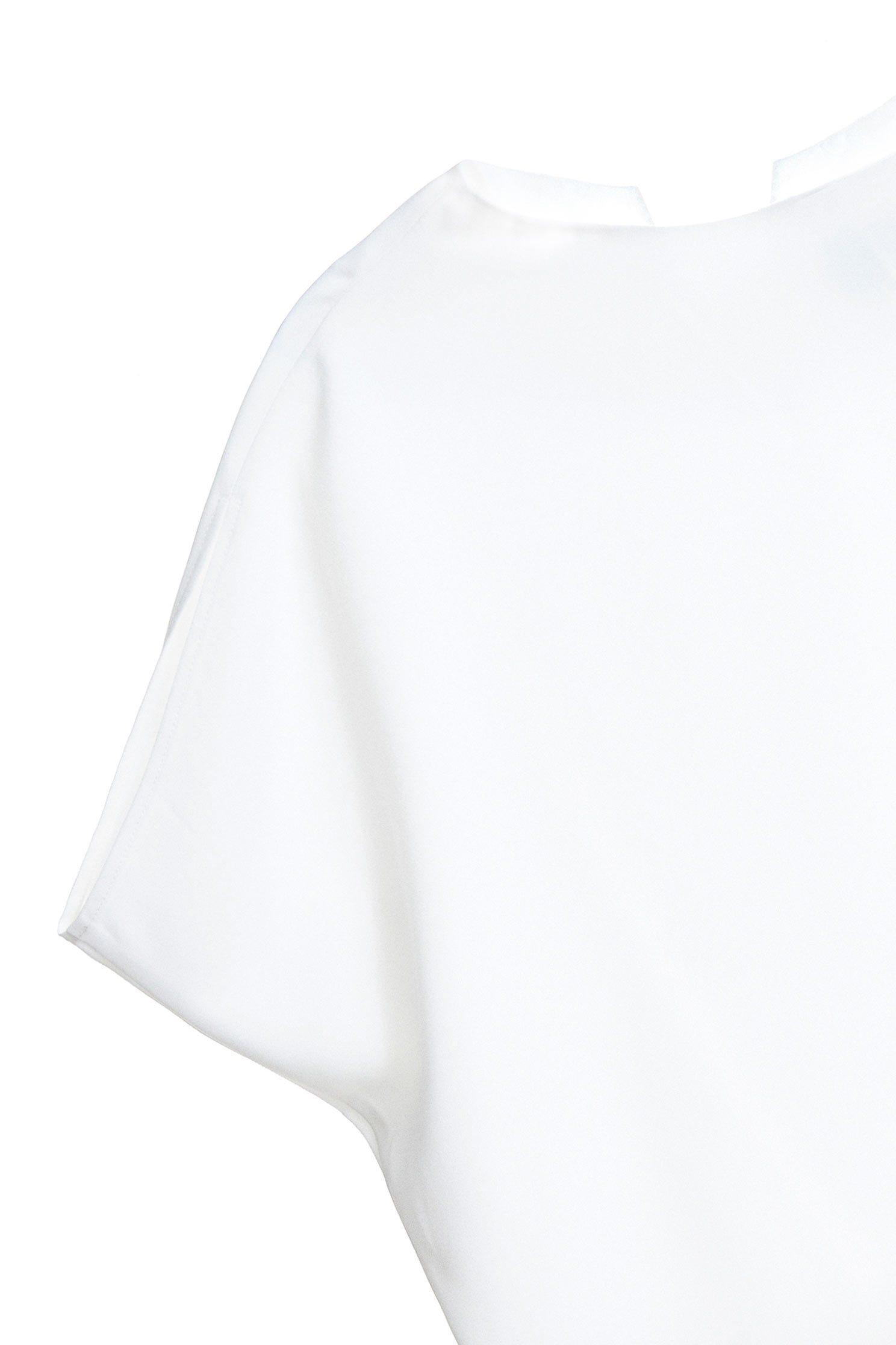 Elegant classic top,Top,白色上衣