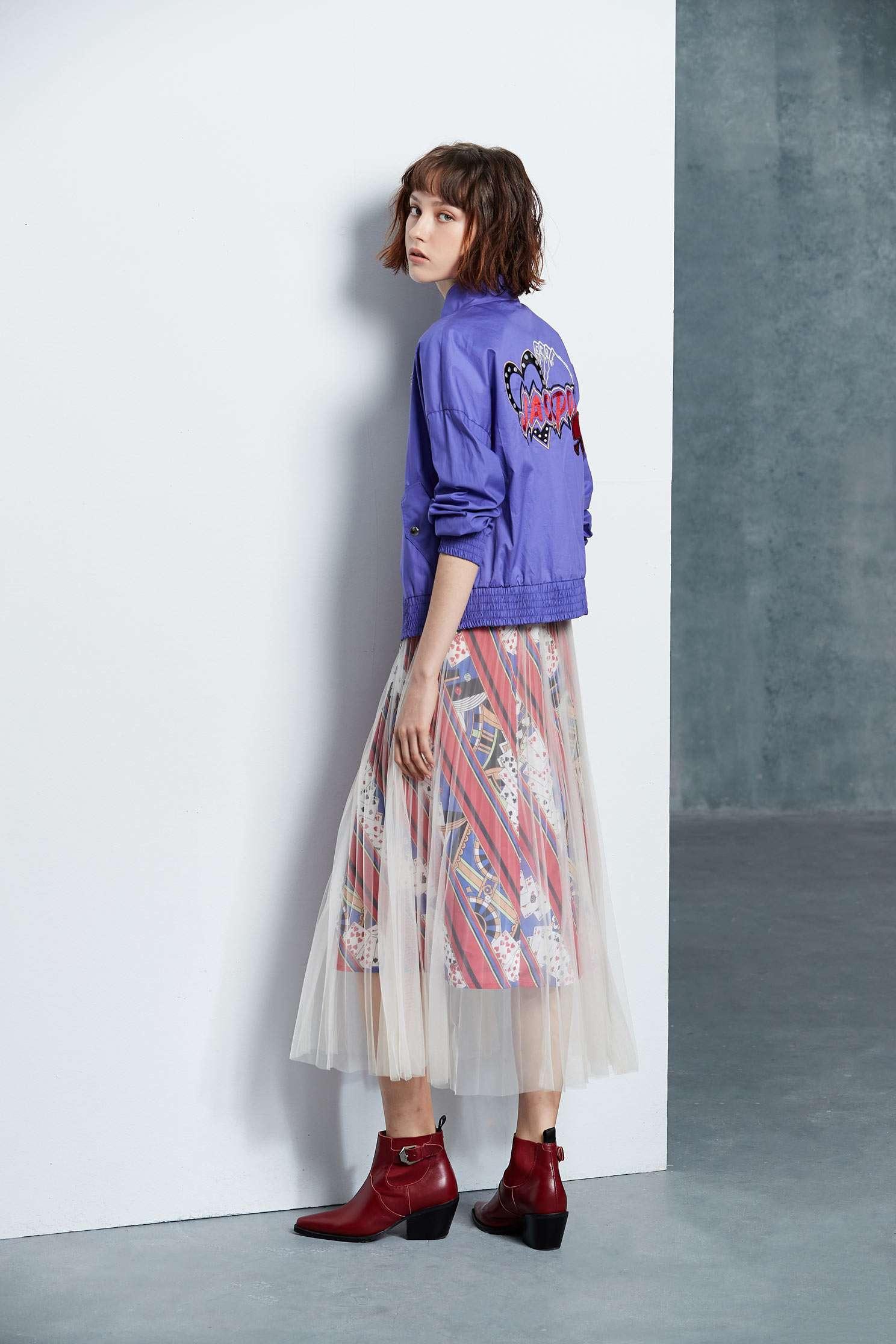 Fashion long sleeve jacket