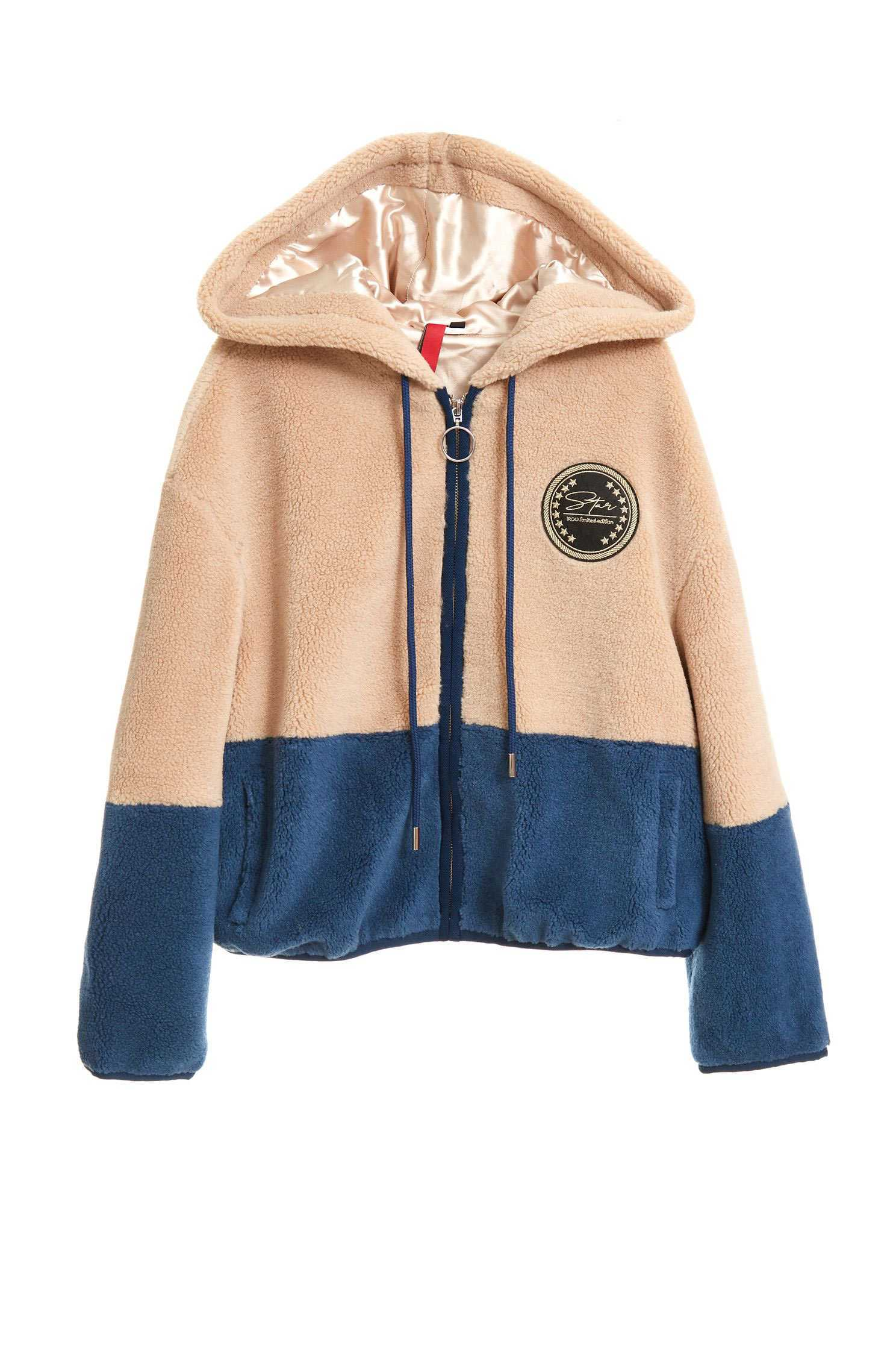 FAUX SHEARLING COAT,COLD FOR WINTER,Earth Signs,外套,Hoodie Jacket,長袖外套