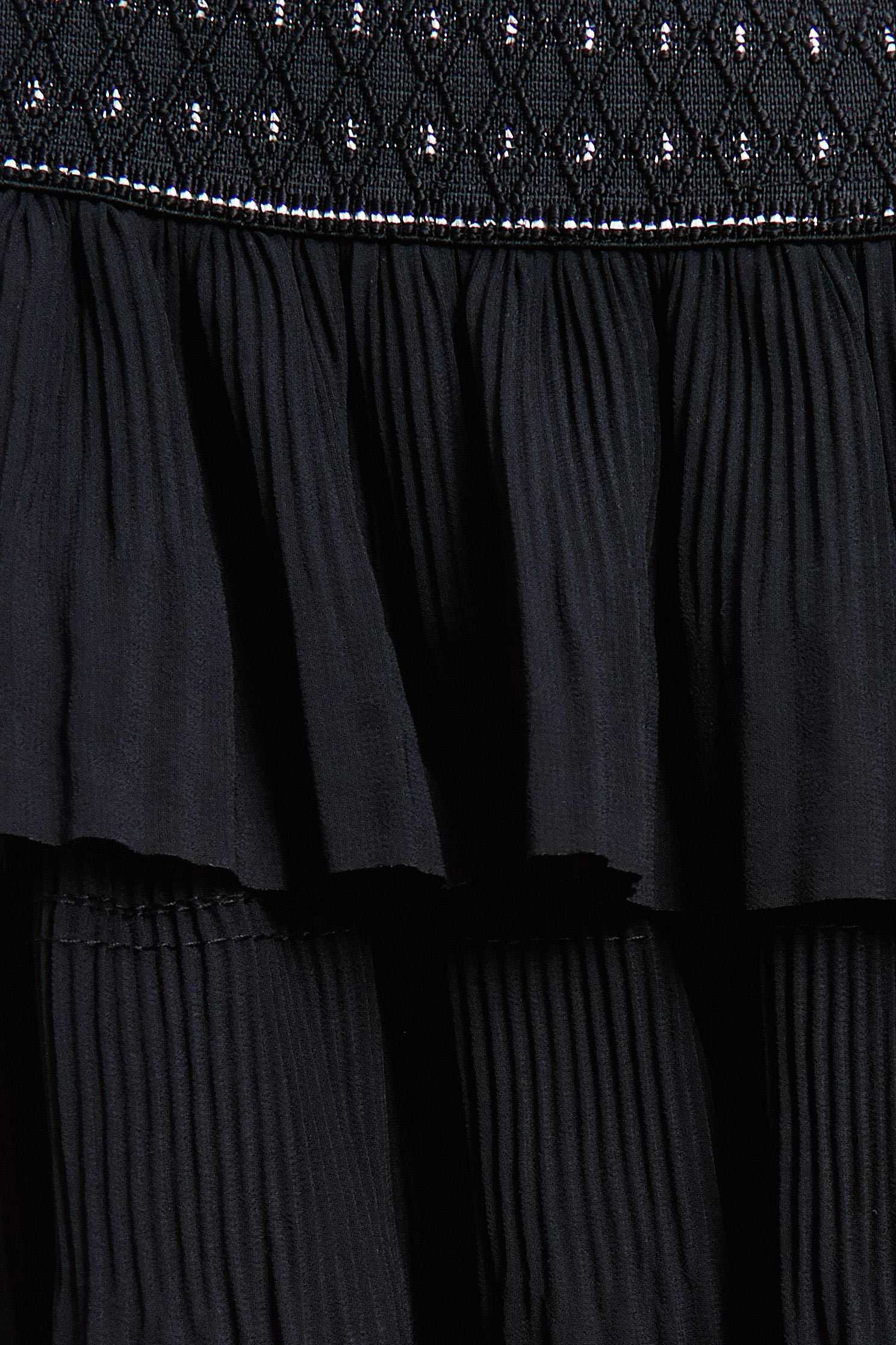 Multi-level lotus leaf skirt,Tulle Skirt,Long Skirt,黑色裙子