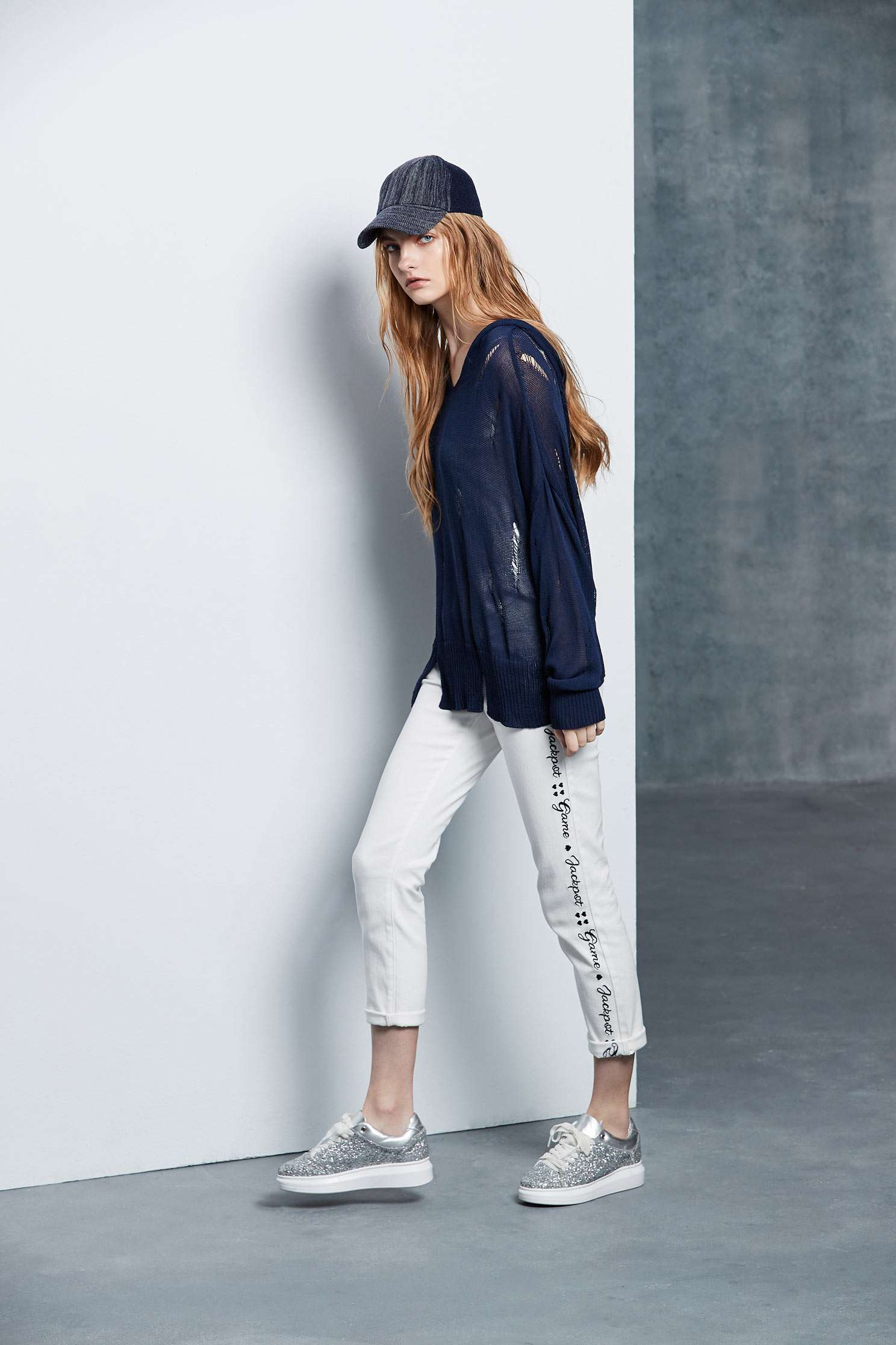 Slogan popular denim trousers,tanning,cowboy,jeans,sdenimtrousers,whitepants,whitepants,embroidered,pants,thinpants